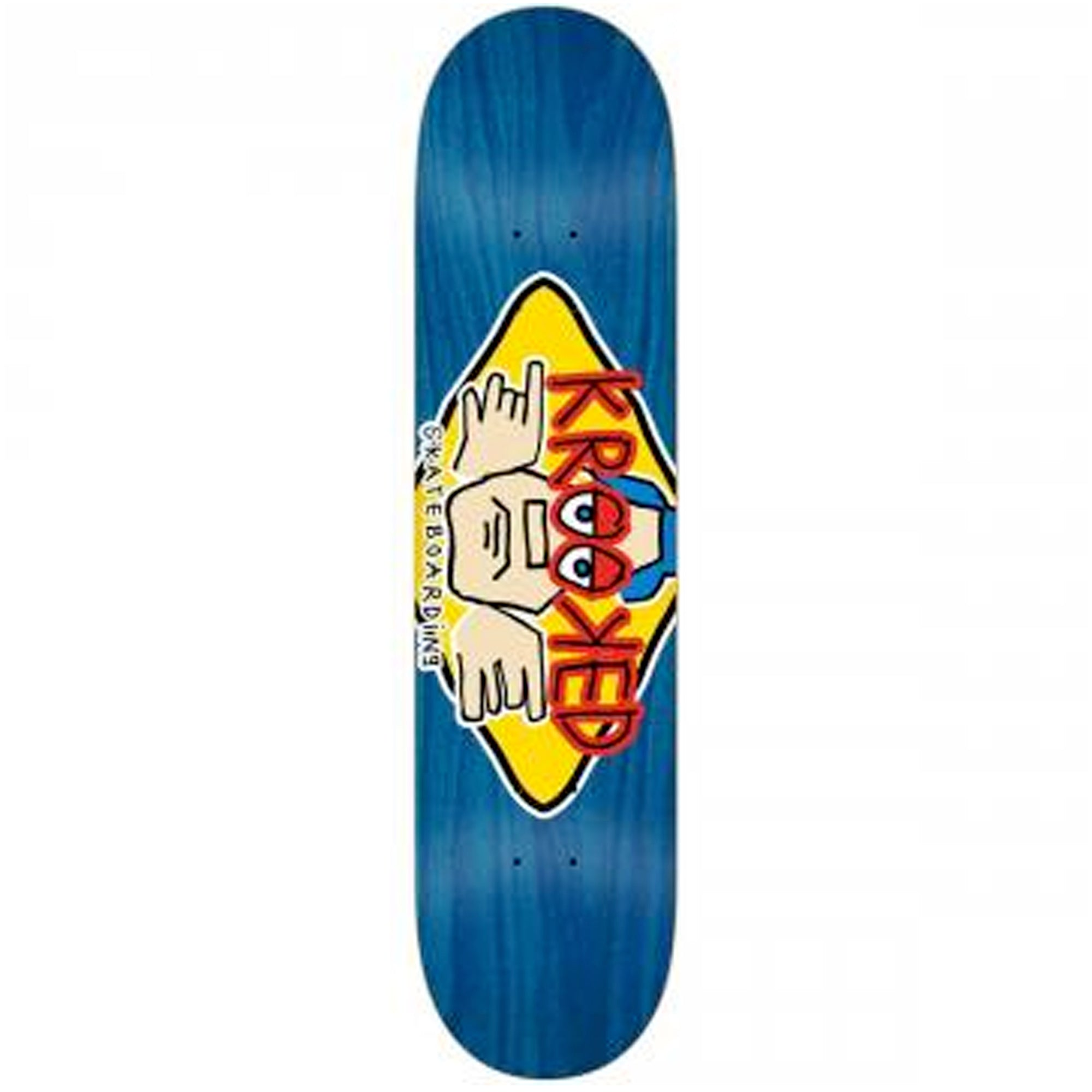 "Krooked Arketype Stain 8.06"" Skateboard Deck"