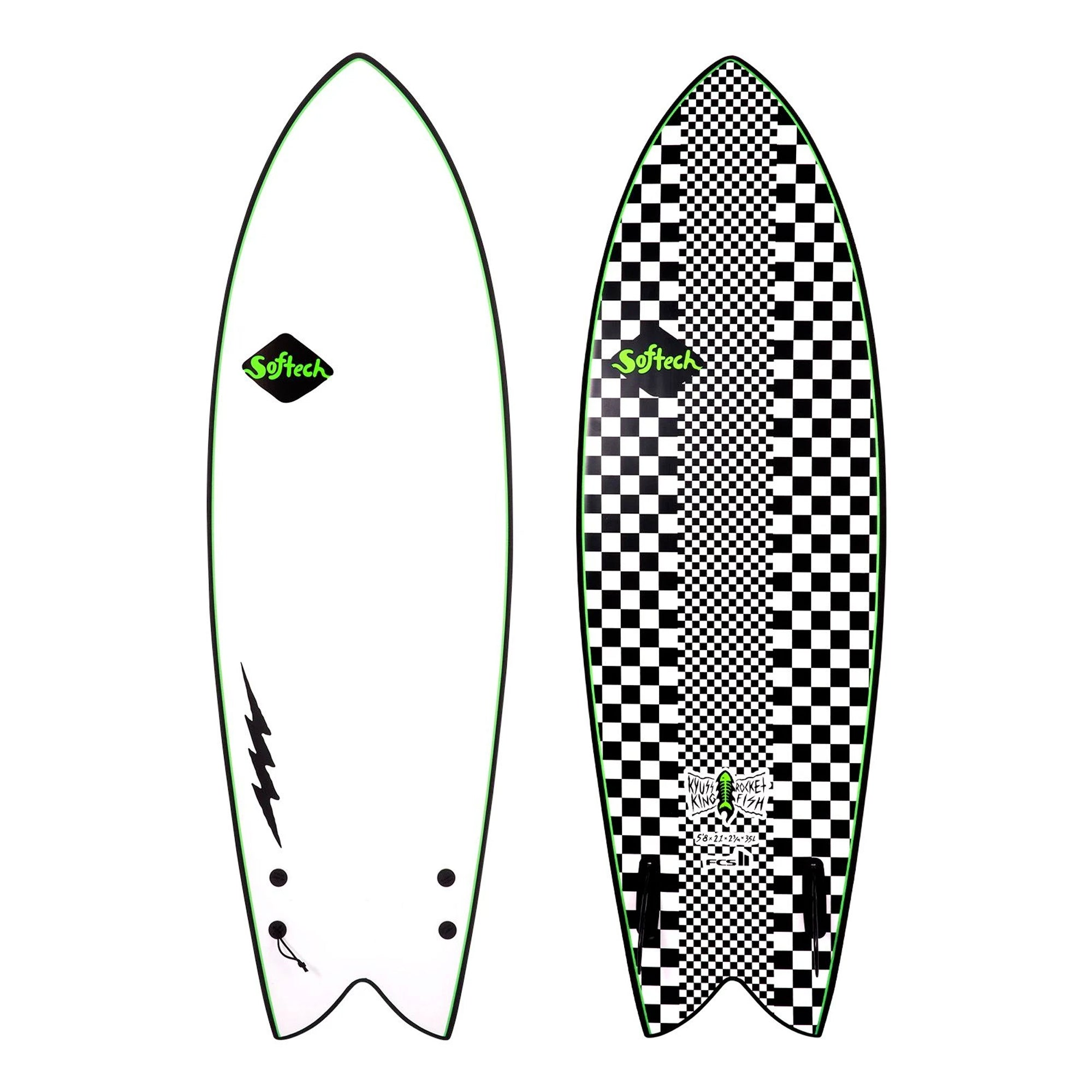 Softech Kyuss King Rocket Fish Soft Surfboard