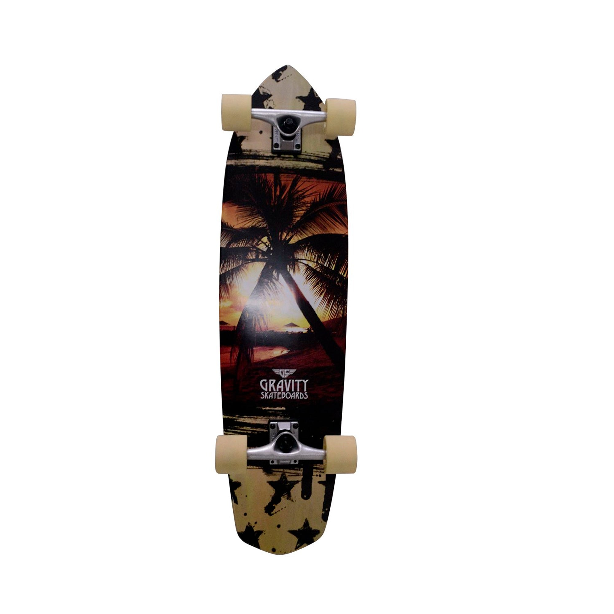 "Gravity Last Resort 36"" Longboard Skateboard"