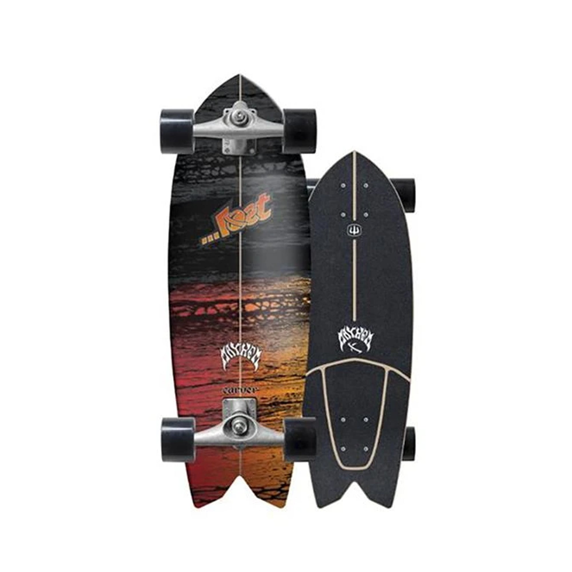 Lost X Carver CX Raw Psycho Killer Surfskate Complete