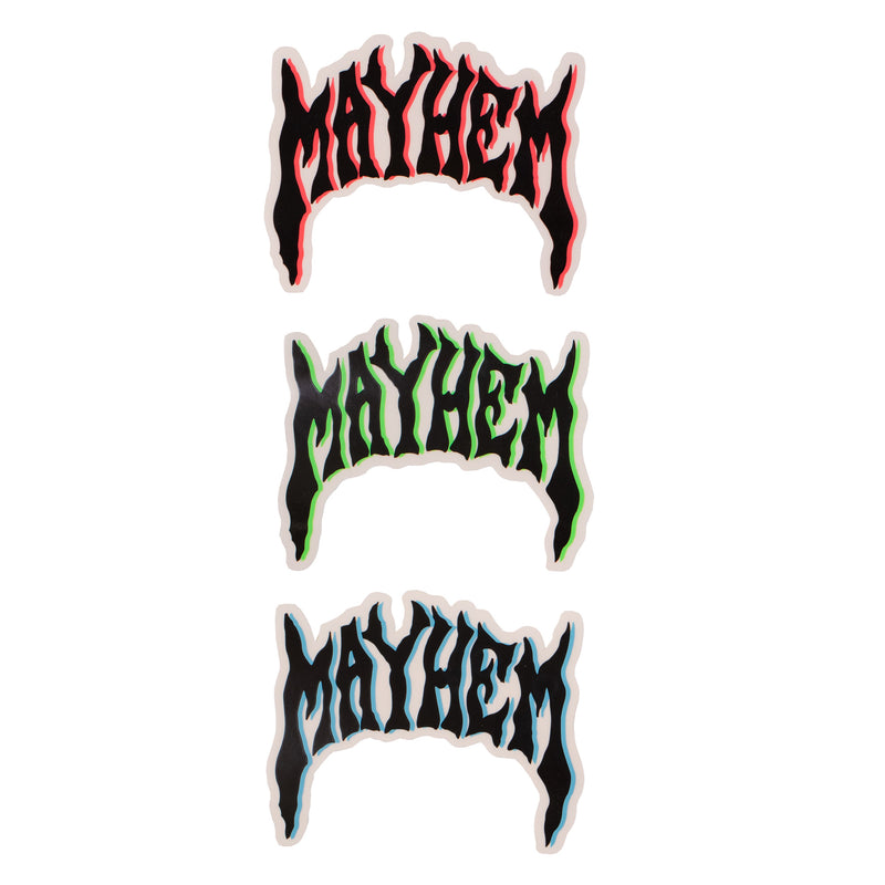 Lost Classic Mayhem Logo Sticker - Assorted Colors