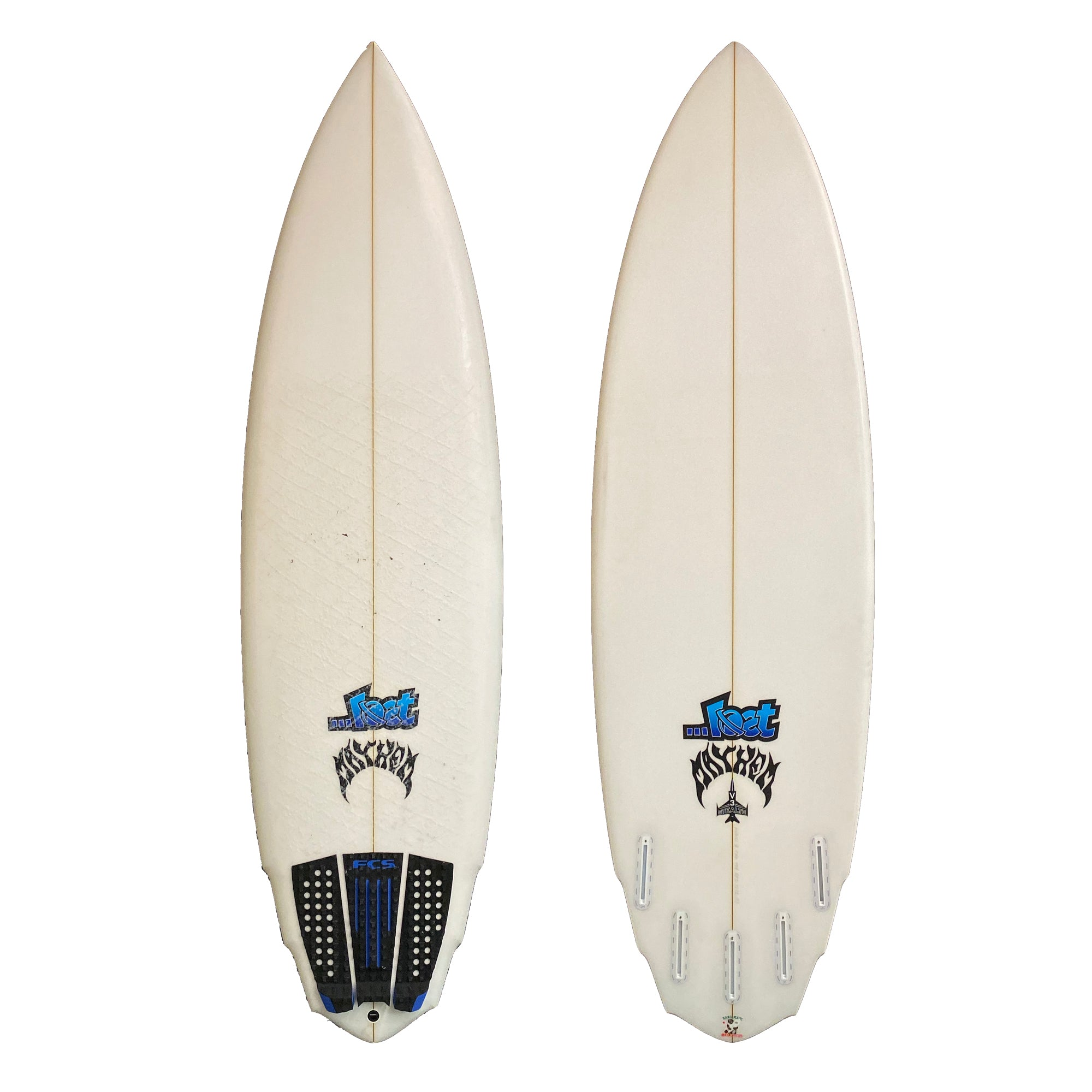 Lost V3 Stealth 6'6 Used Surfboard