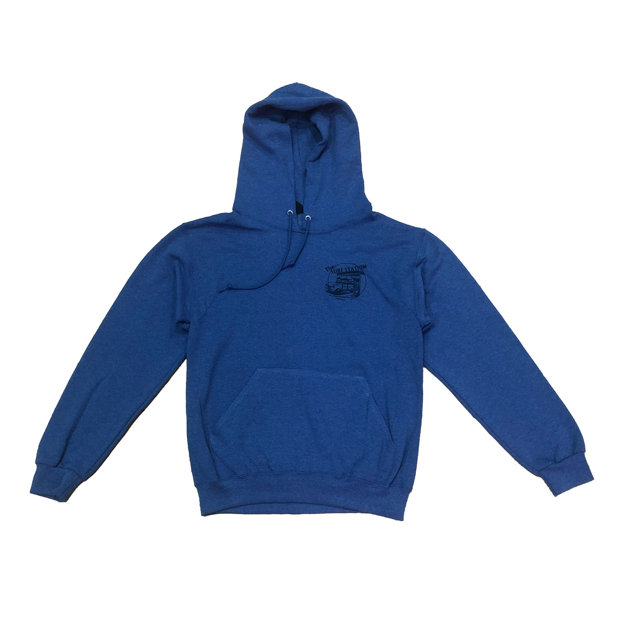 Surf Station Woody Men's Hoodie