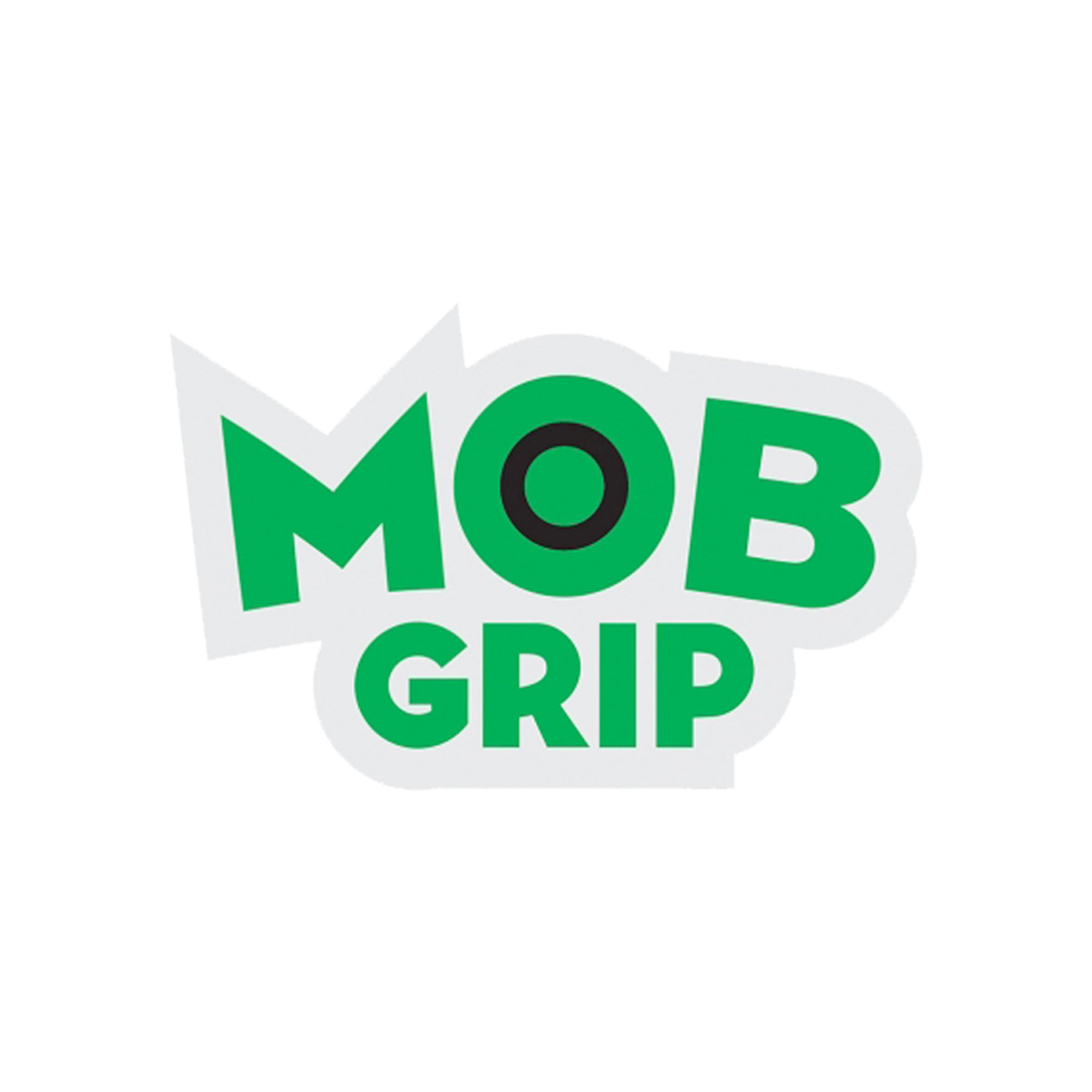 "MOB Grip Logo 1.75"" x 1"" Decal - Green/Black"