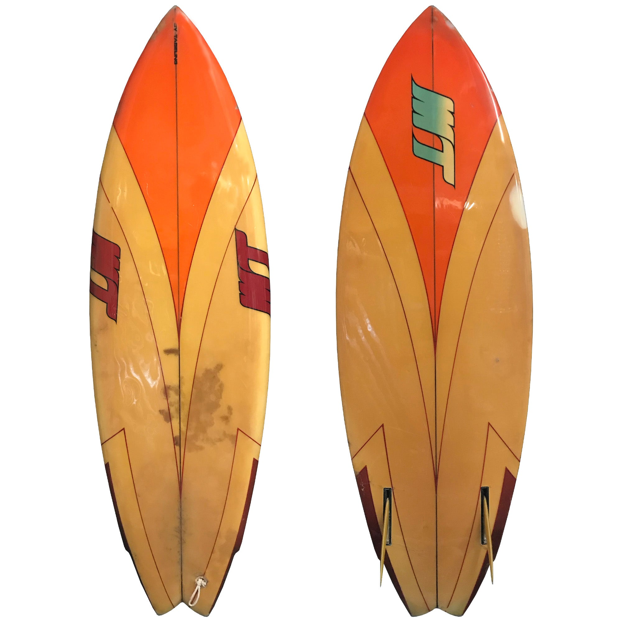 MTB Mike Tabeling 5'8 Collector's Surfboard