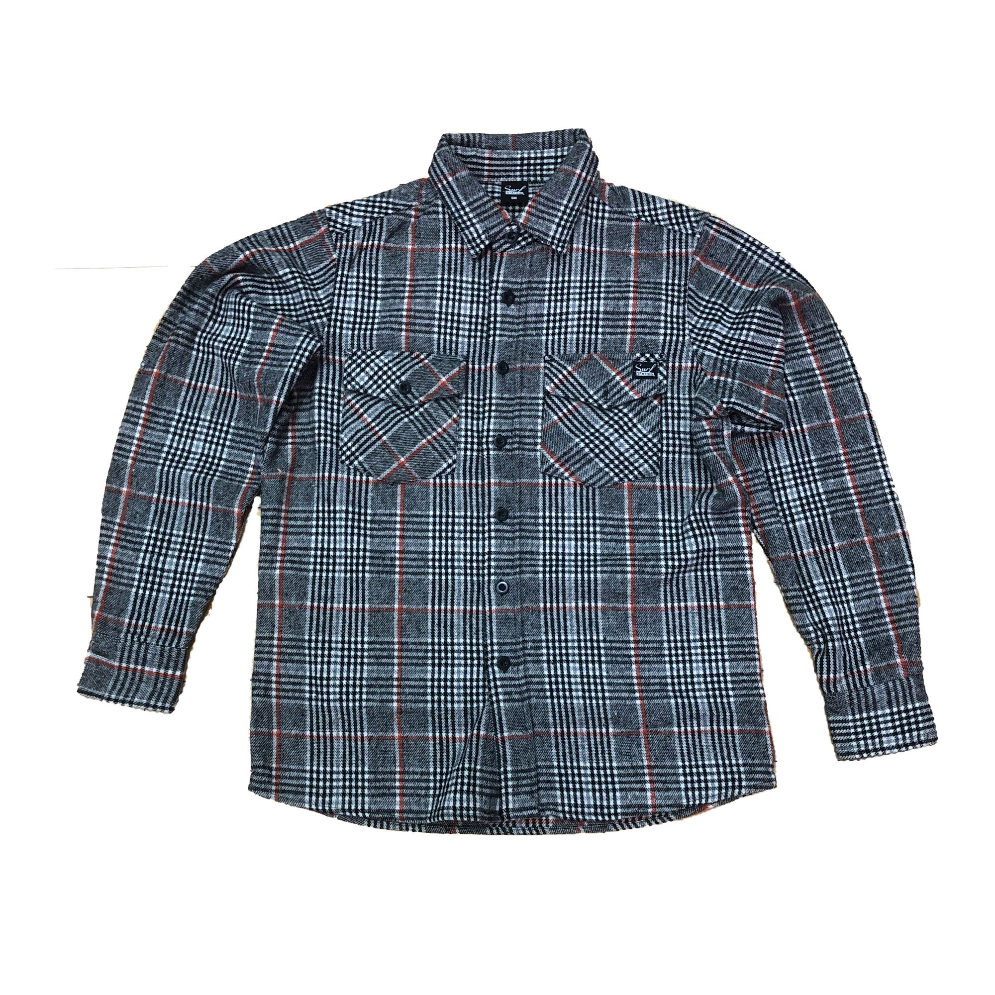 Surf Station 4th Street Men Flannel Shirt