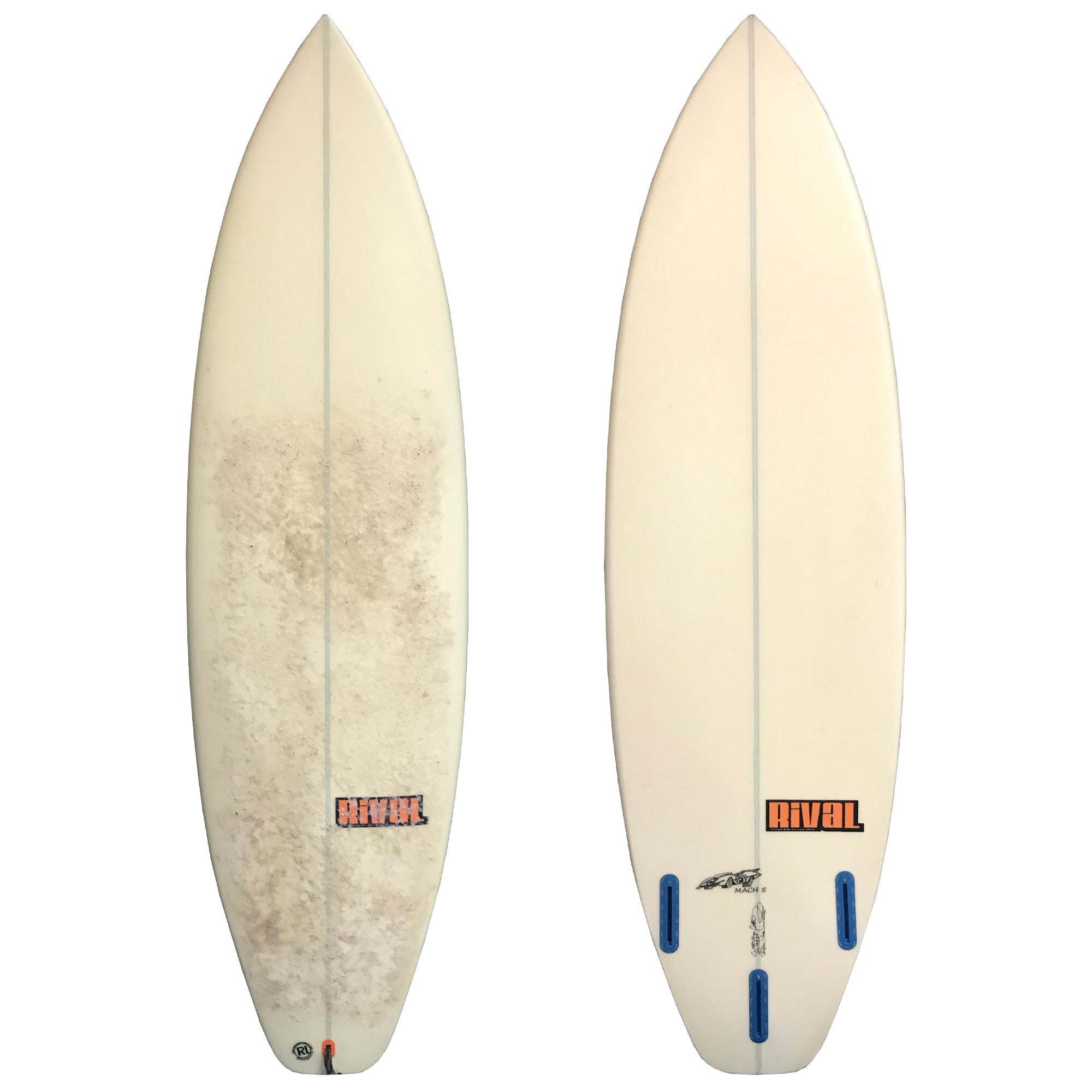 Rival Surfboards Mach 5 6' Used Surfboard