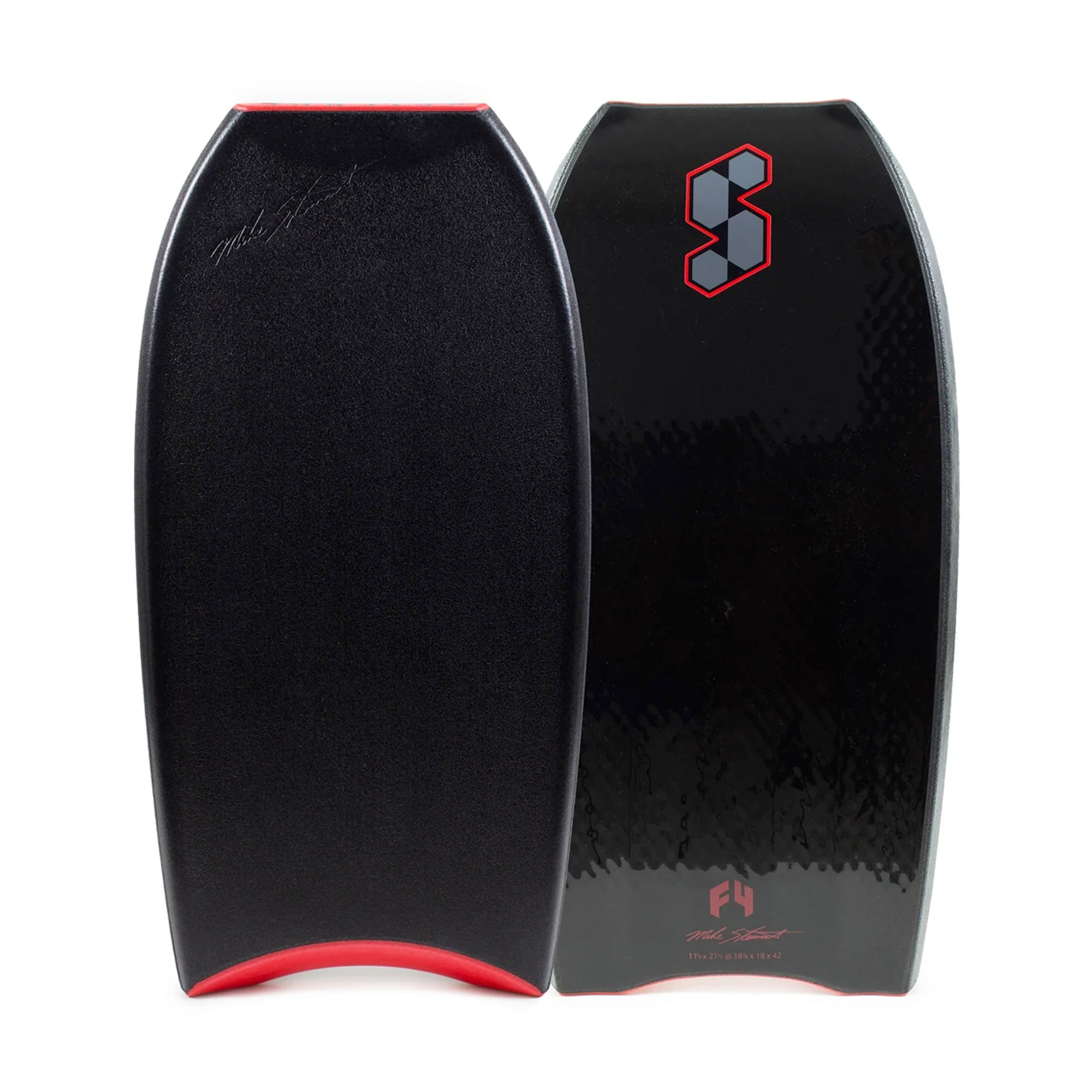 "Mike Stewart Science Style Loaded QV F4 42"" Bodyboard - Black"