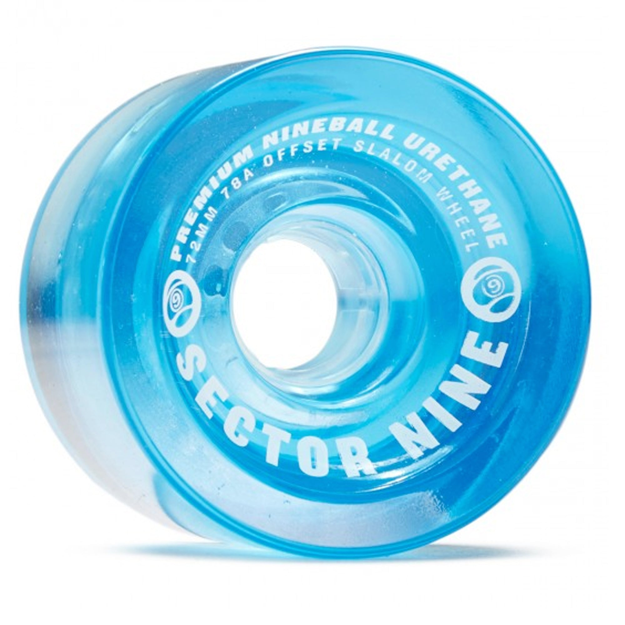 Sector 9 Nineballs 72mm Slalom 85a Cruiser Wheels - Blue