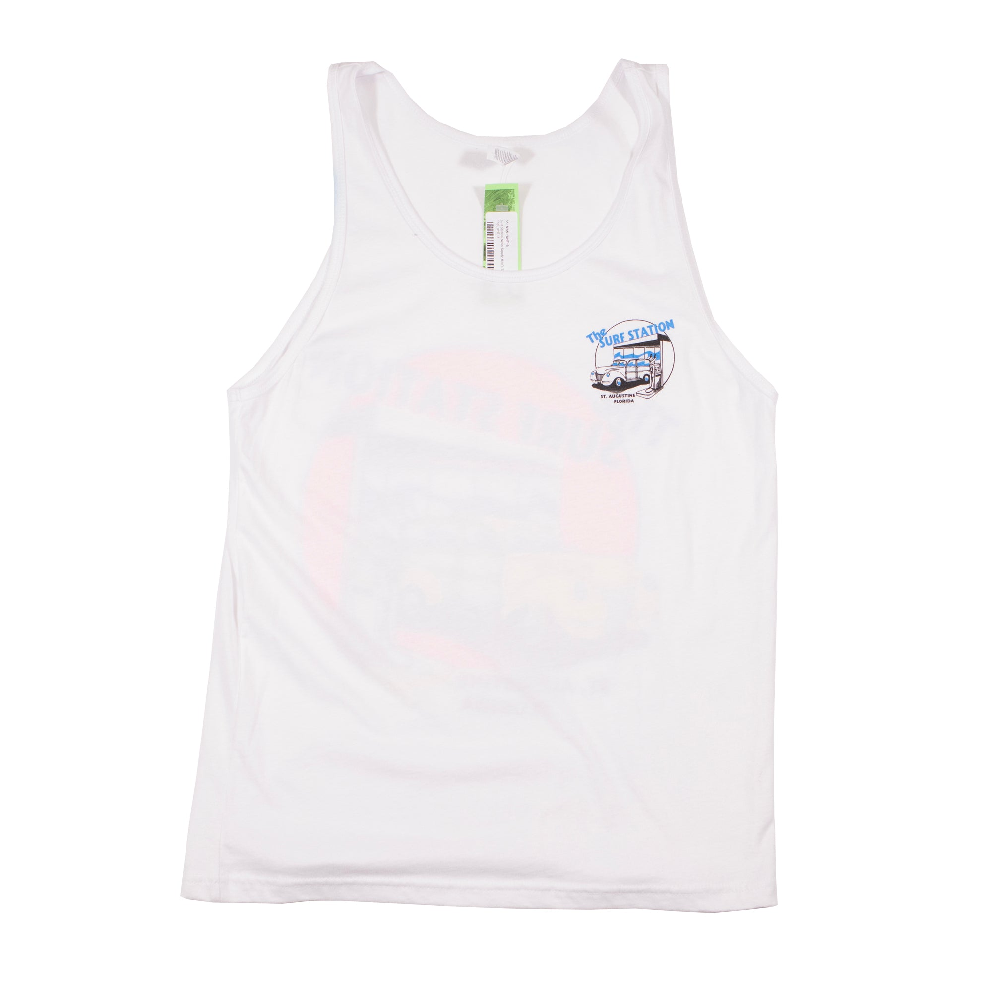 Surf Station Neon Woody Men's Tank Top
