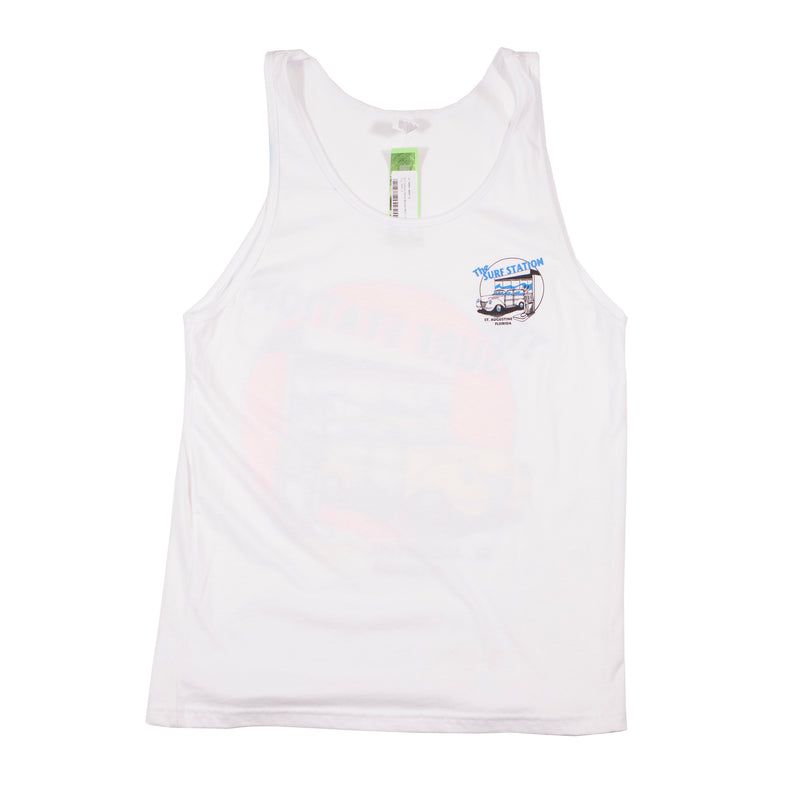 Step Up Or Step Off Neon Tank Top
