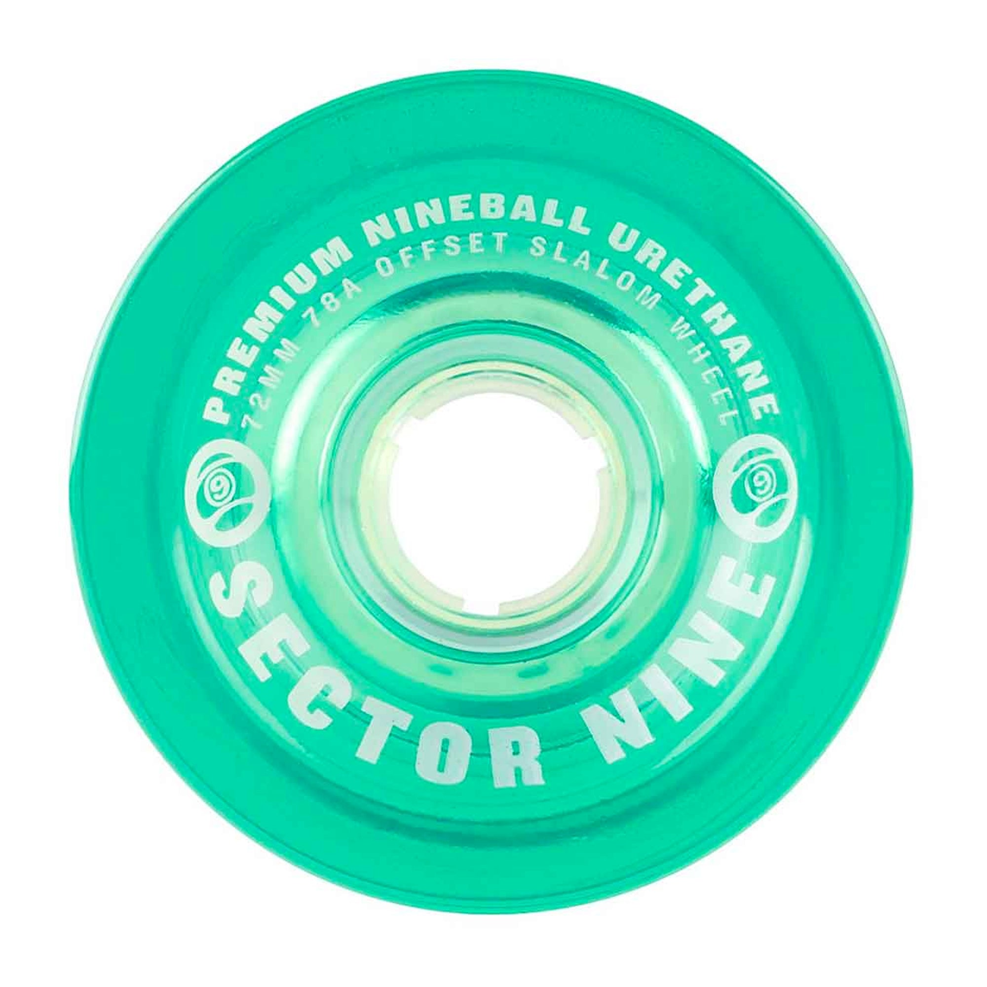 Sector 9 Nineballs 72mm Slalom 85a Cruiser Wheels - Mint