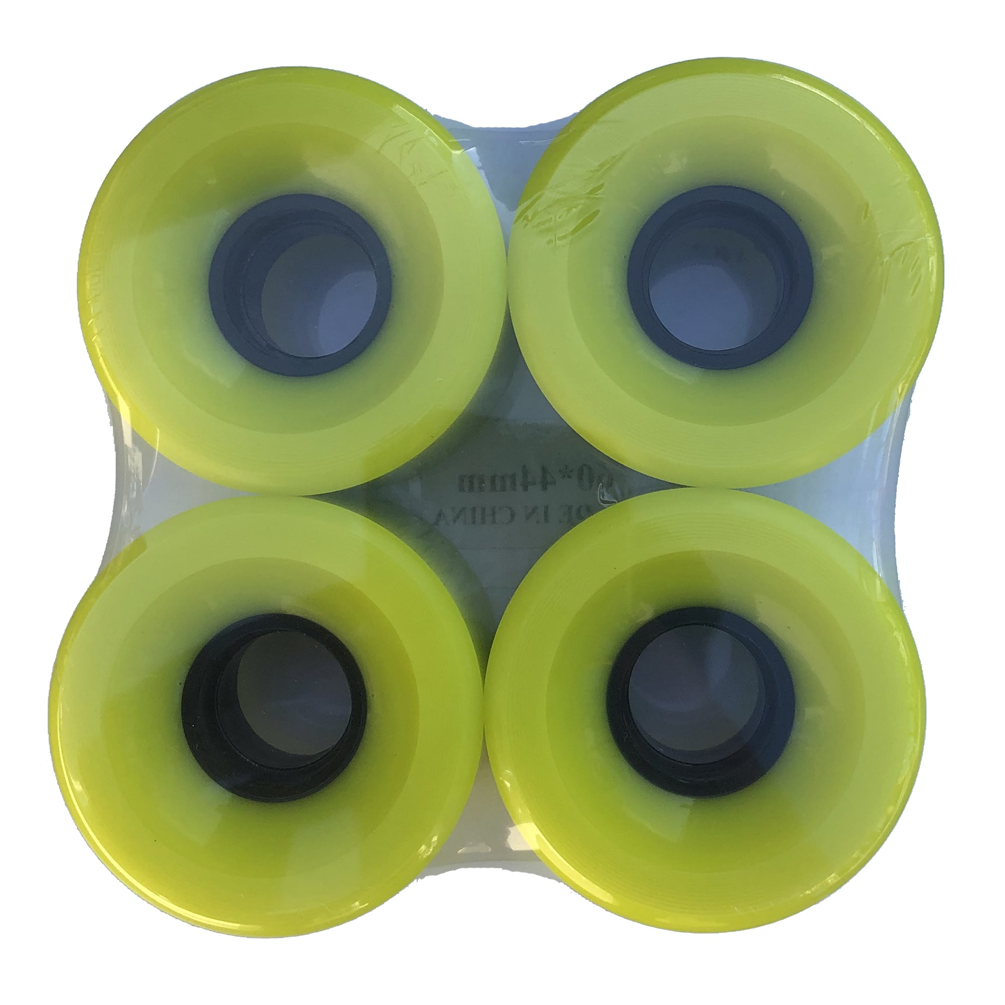No Name Lime 60mm Wheels - 78a