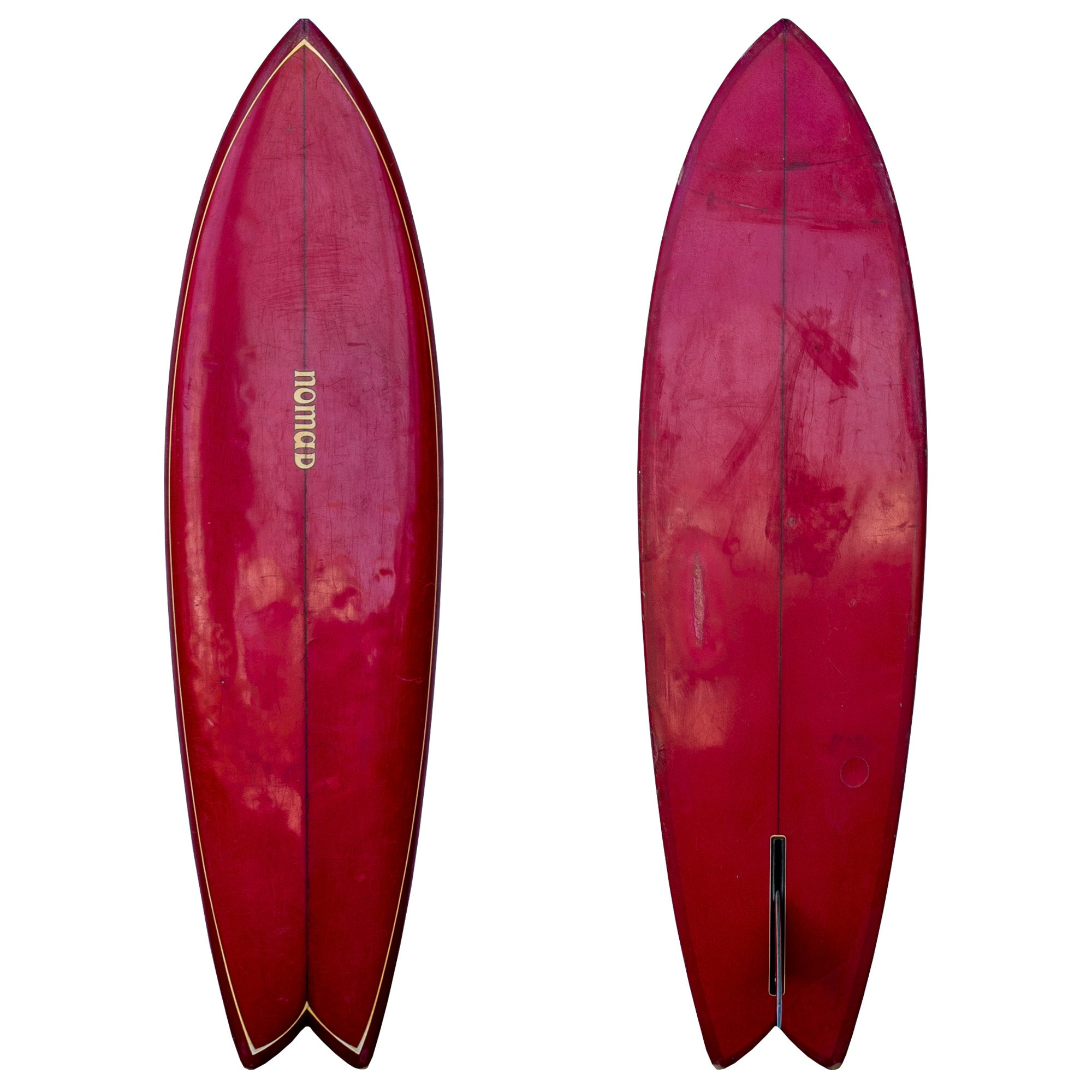 Nomad 5'11 Used Collector Surfboard