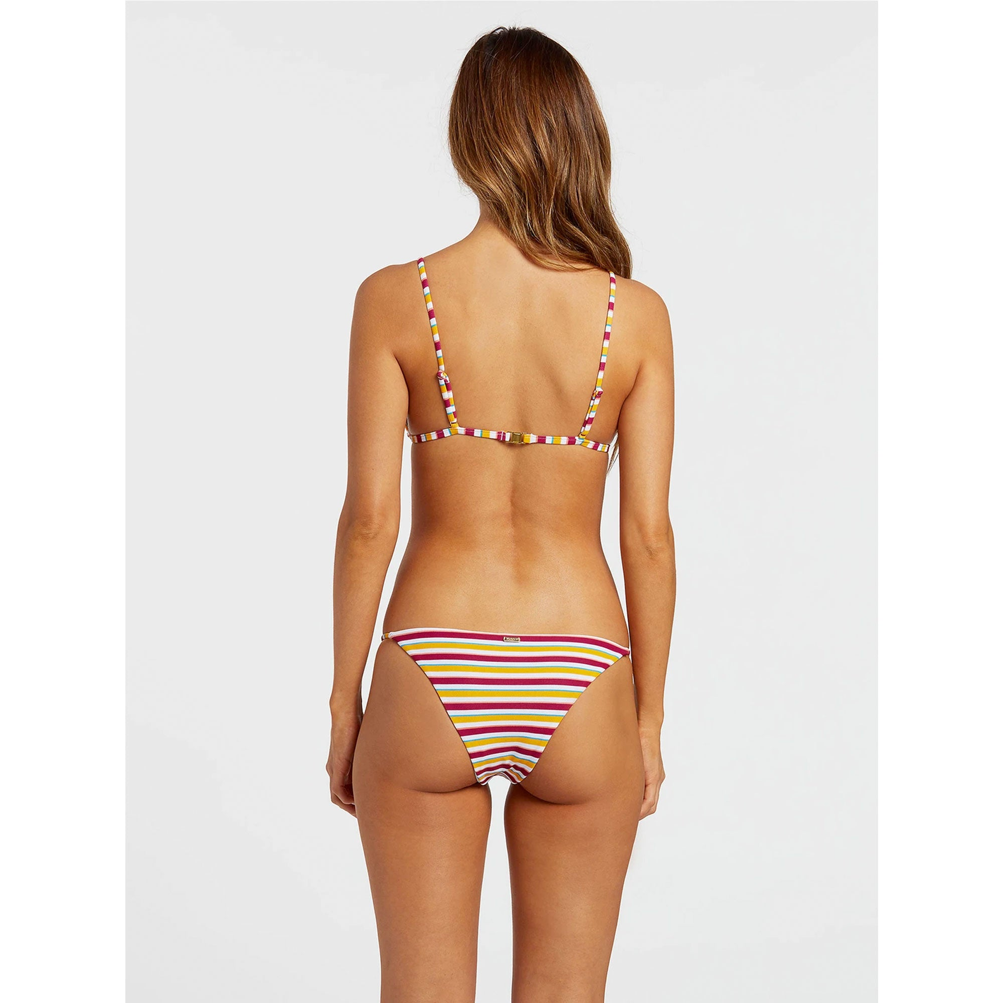 Volcom Stripe While Haute Women's Bikini Top