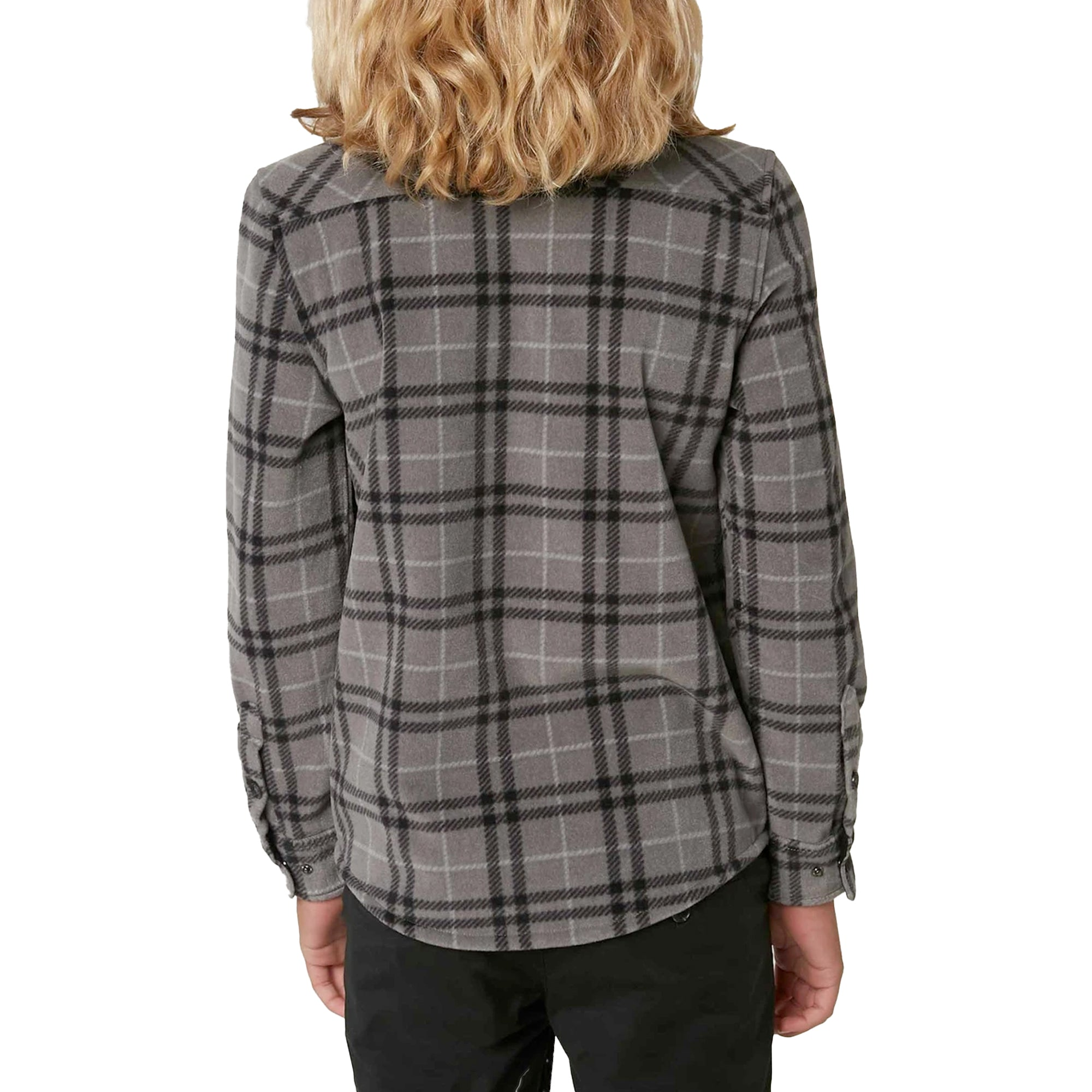 O'Neill Glacier Plaid Youth Boy's Flannel