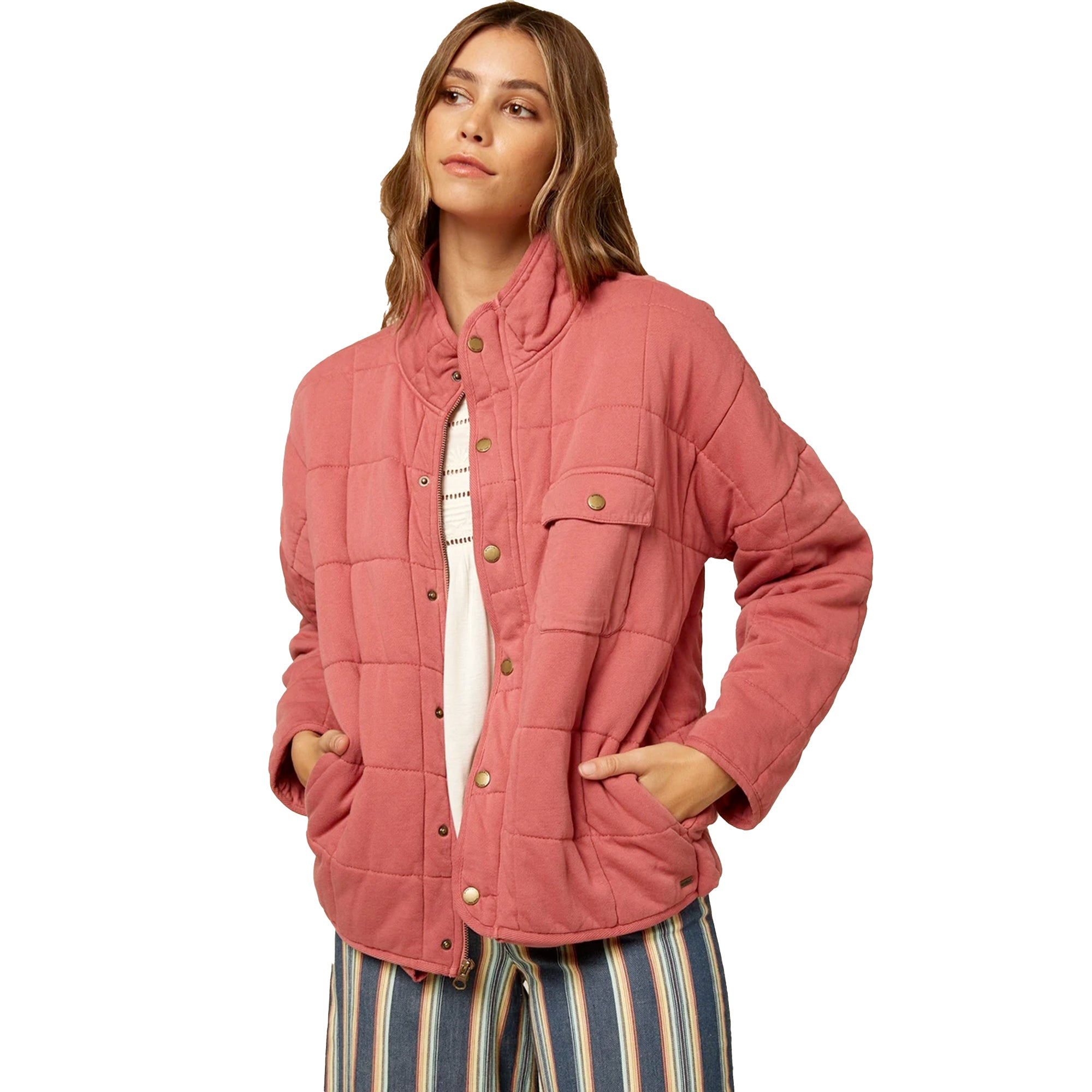 O'Neill Mable Knit Women's Quilted Jacket