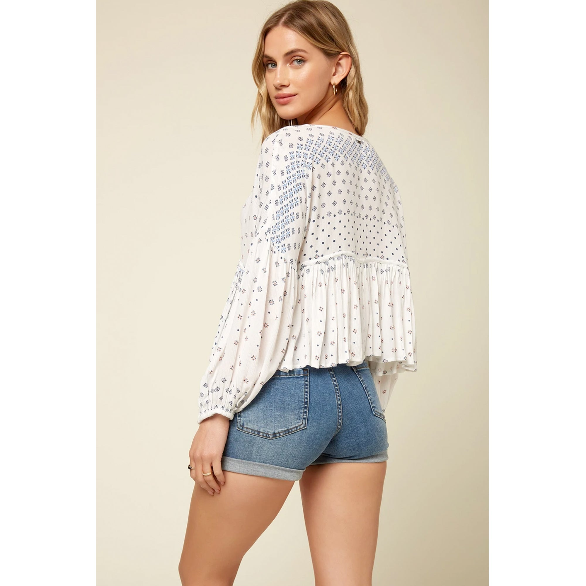 O'Neill Rosie Tile Women's L/S Top