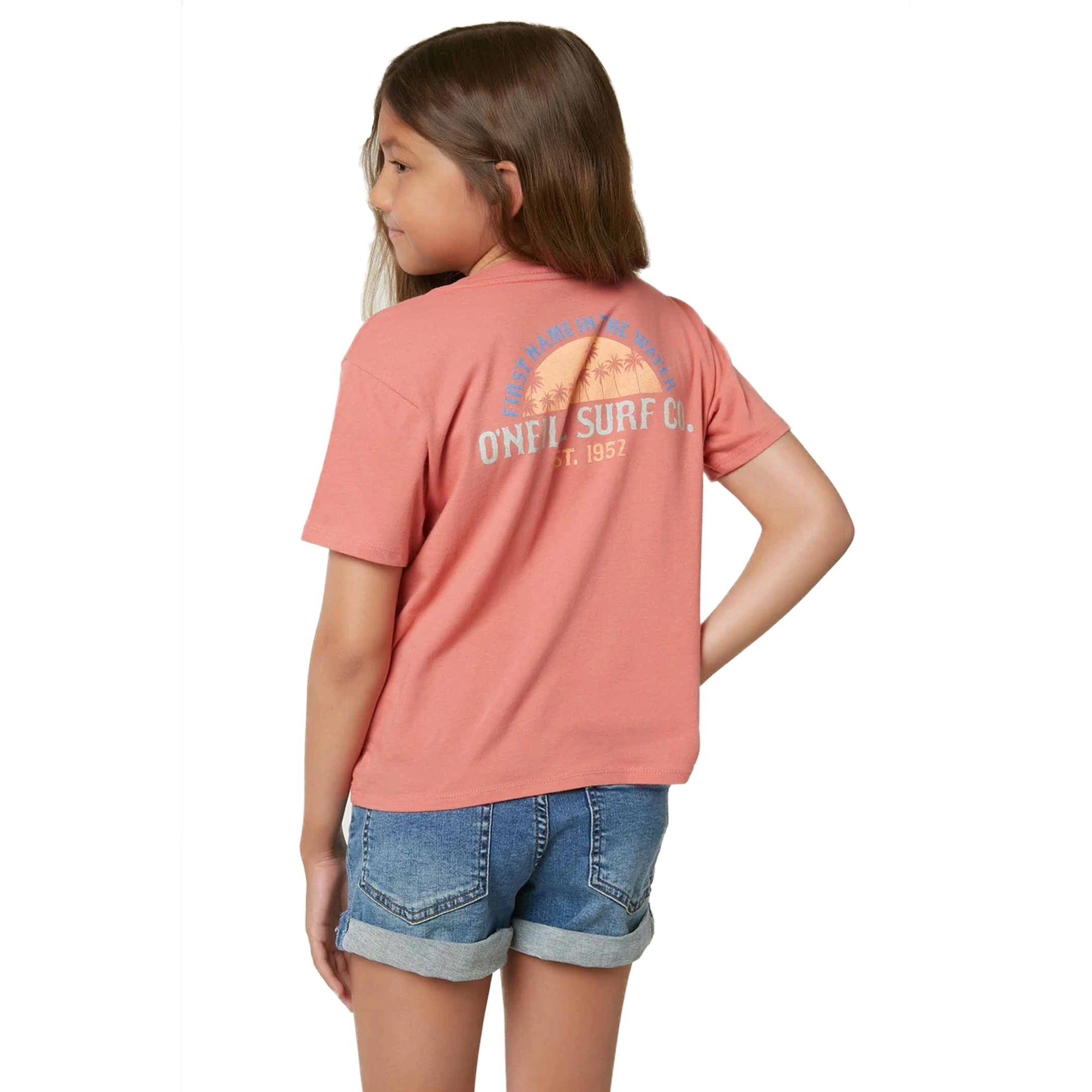 O'Neill Throwback Youth Girl's S/S T-Shirt