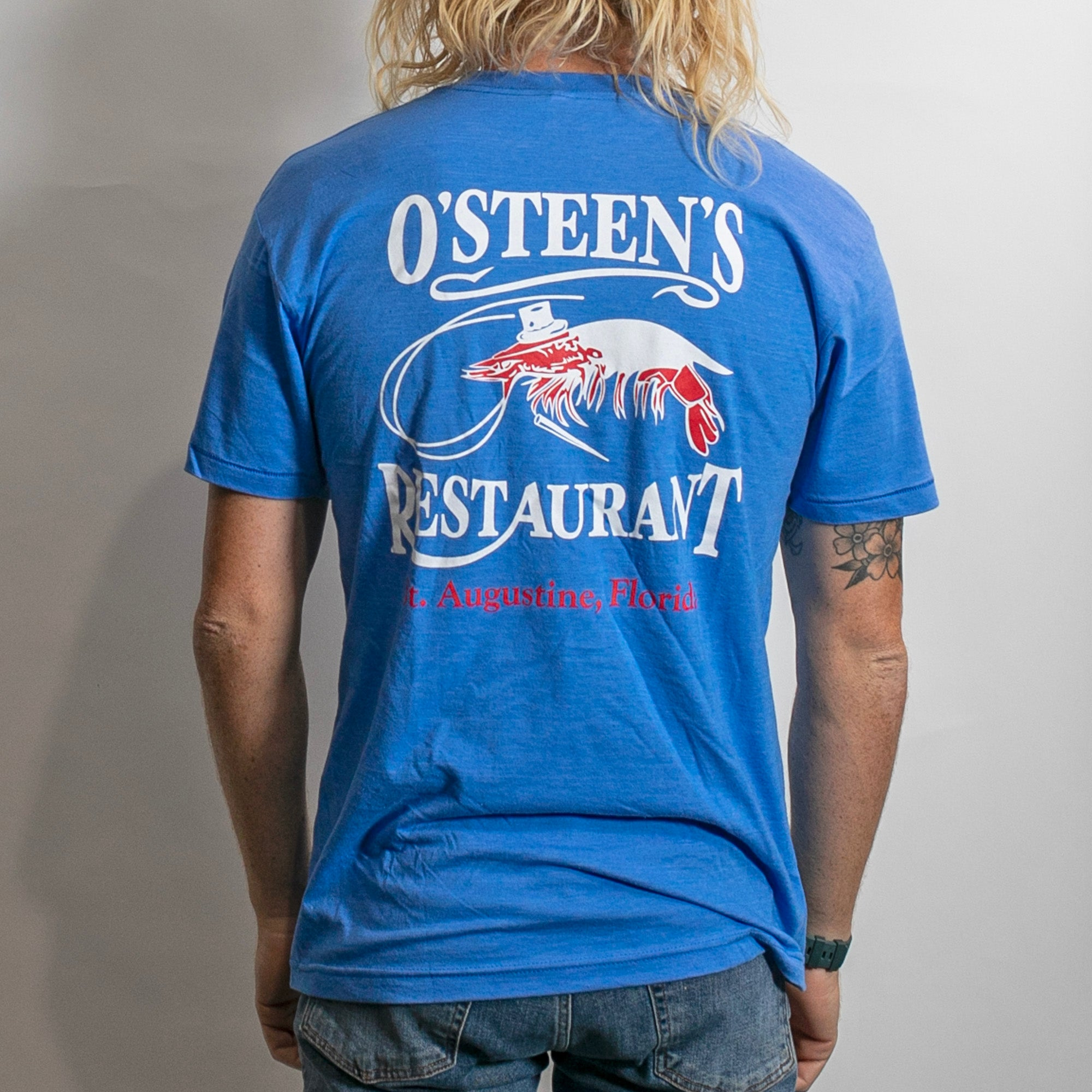 O'Steen's Restaurant Men's S/S T-Shirt