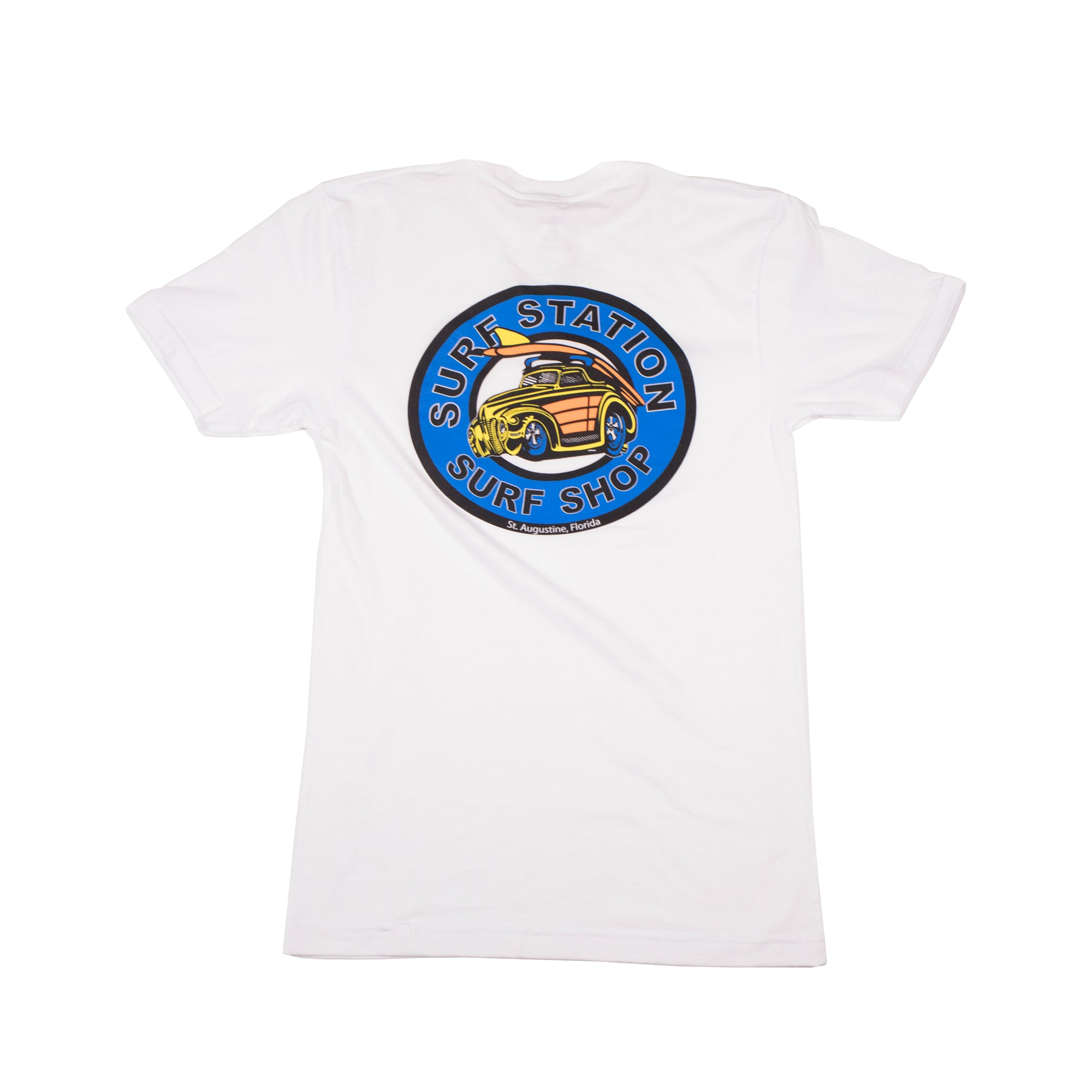 Surf Station Old School Woody Men's S/S T-Shirt