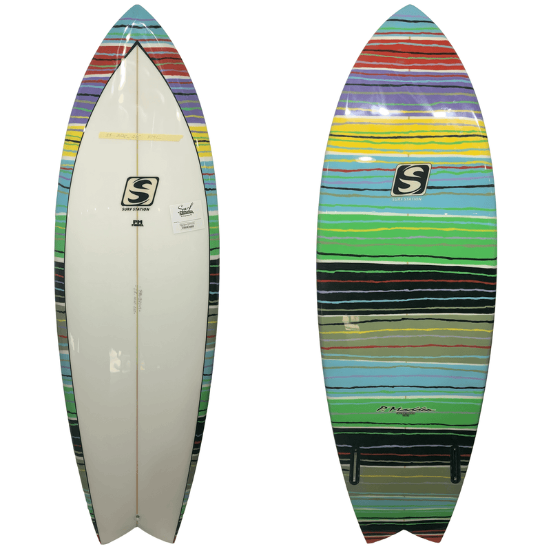 Pat Madden Mexi Blanket Surfboard 5'6