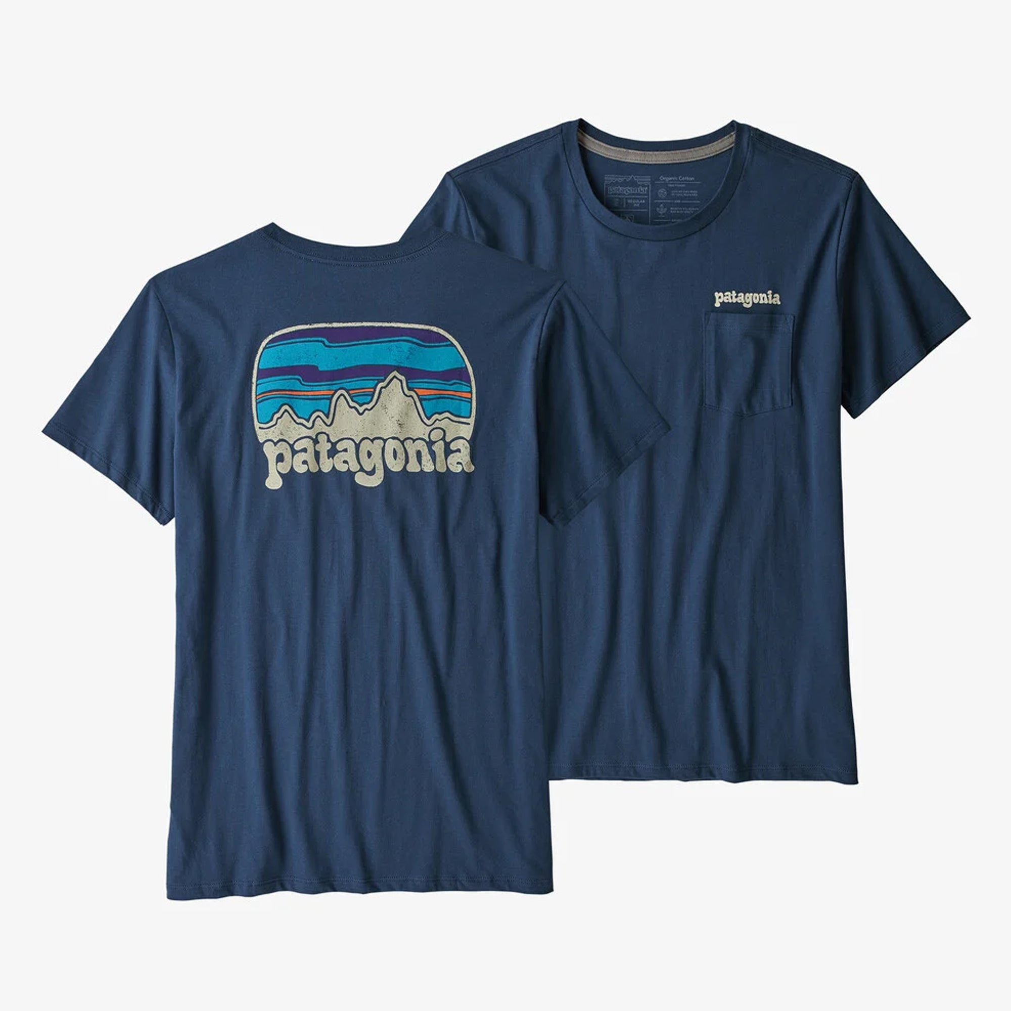 Patagonia Fitz Roy Far Out Organic Women's S/S Pocket T-Shirt