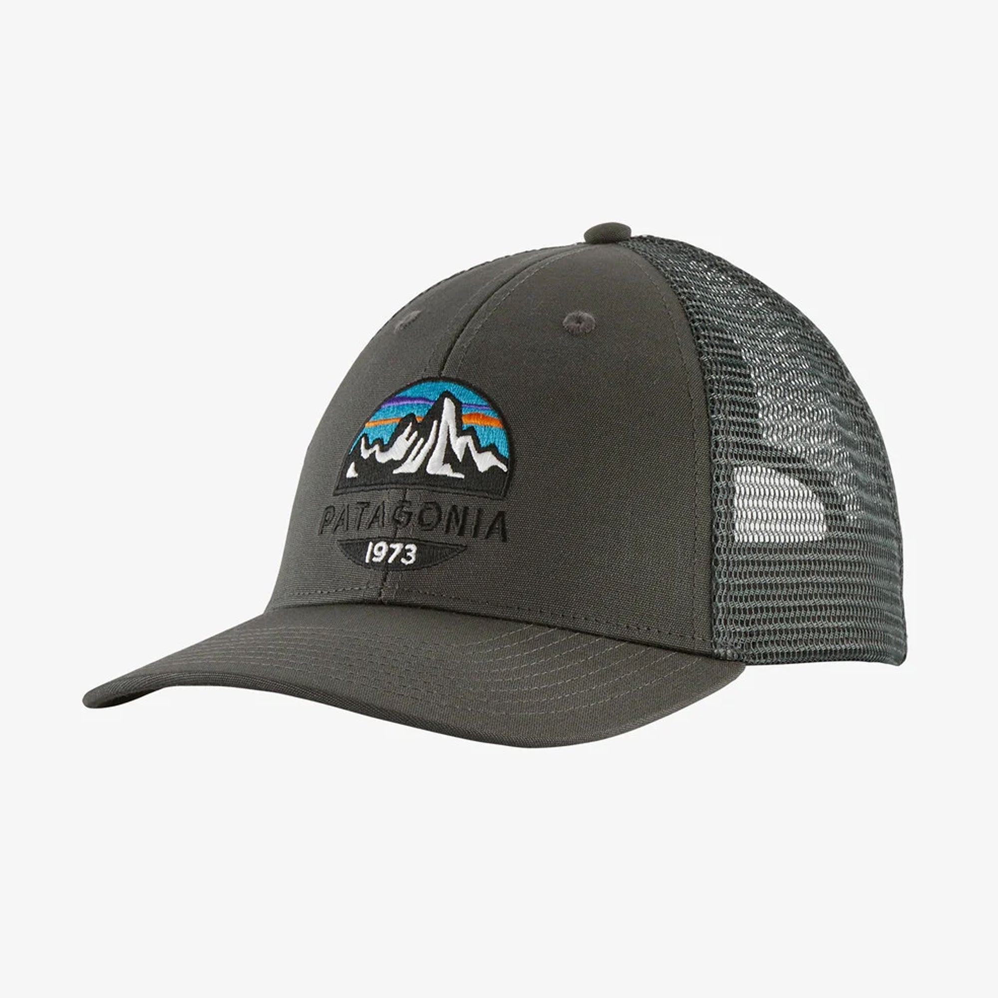 Patagonia Fitz Roy Scope LoPro Men's Trucker Hat - Forge Grey