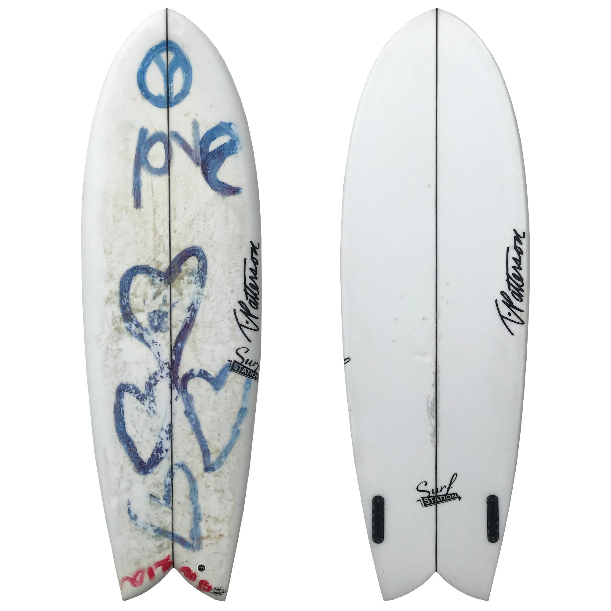 T. Patterson Twin 5'4 Used Surfboard