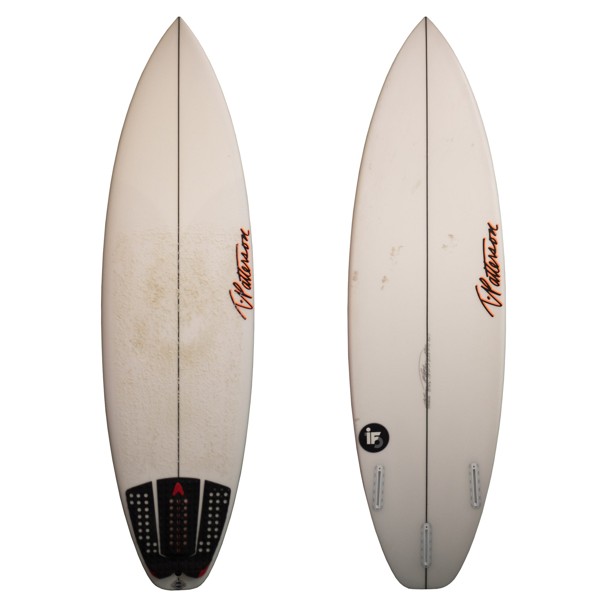 "T. Patterson IF-15 5'9 1/2"" Used Surfboard"