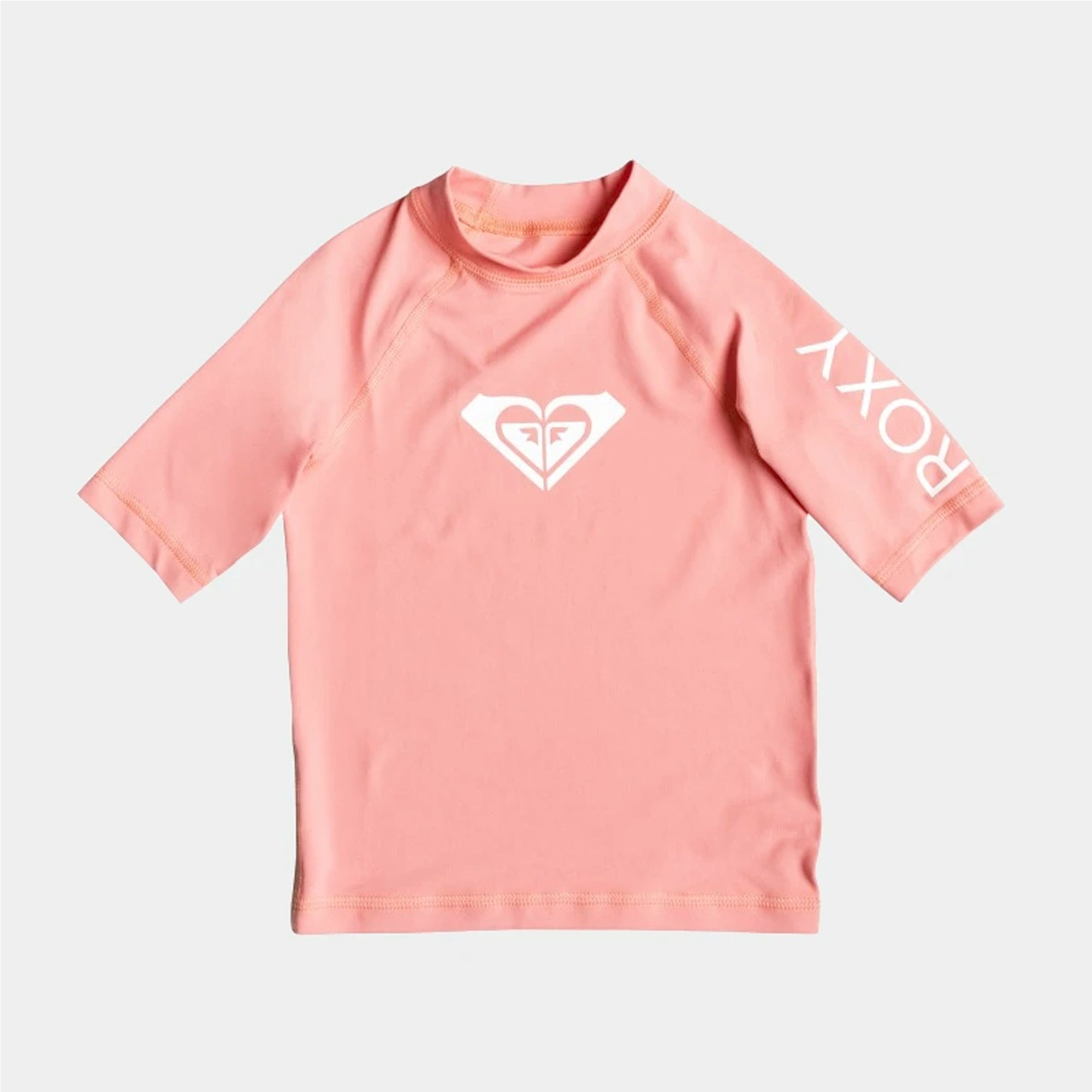 Roxy Whole Hearted Youth Girl's S/S UPF50 Rashguard