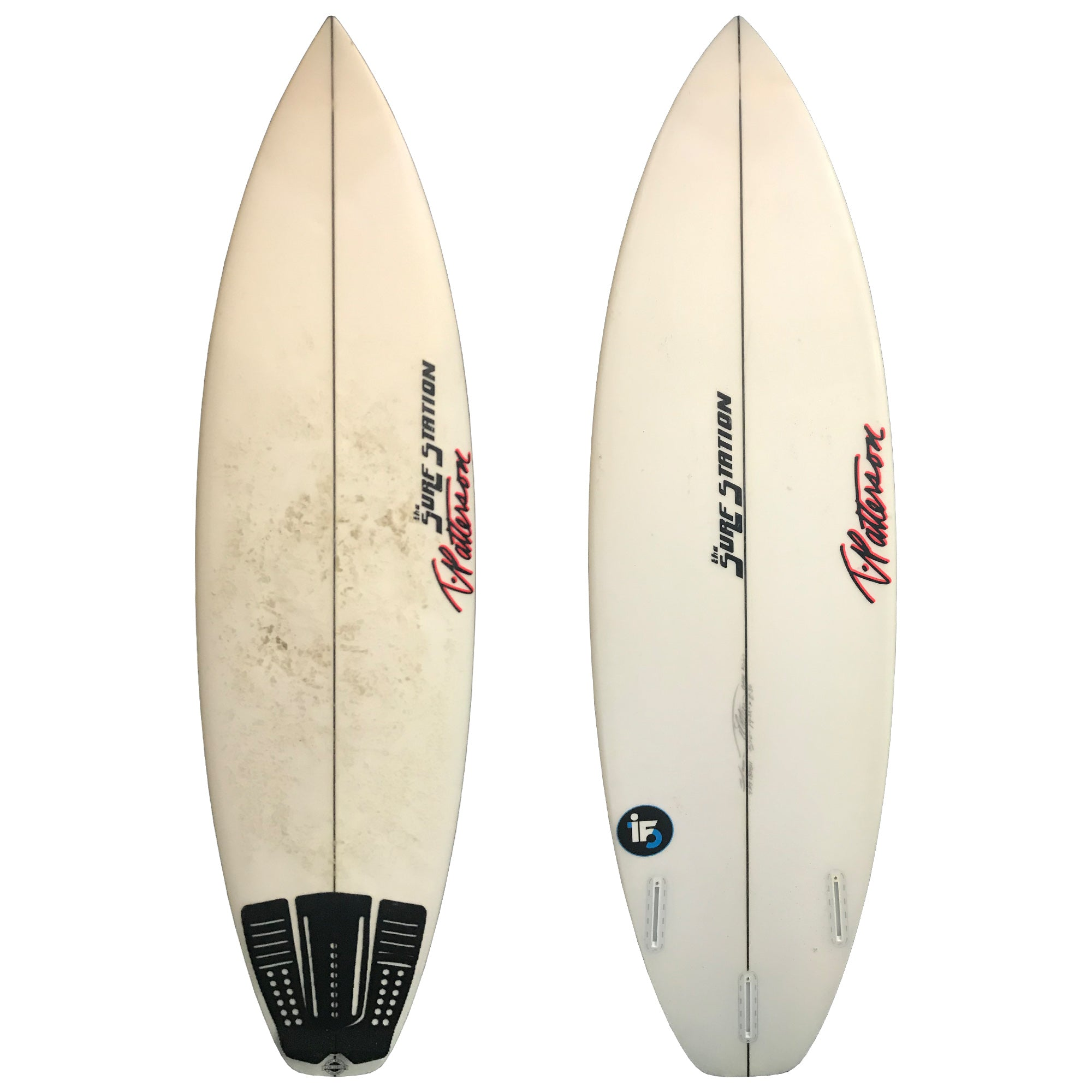 "T. Patterson ""Pool Party 2"" 5'10 Used Surfboard"