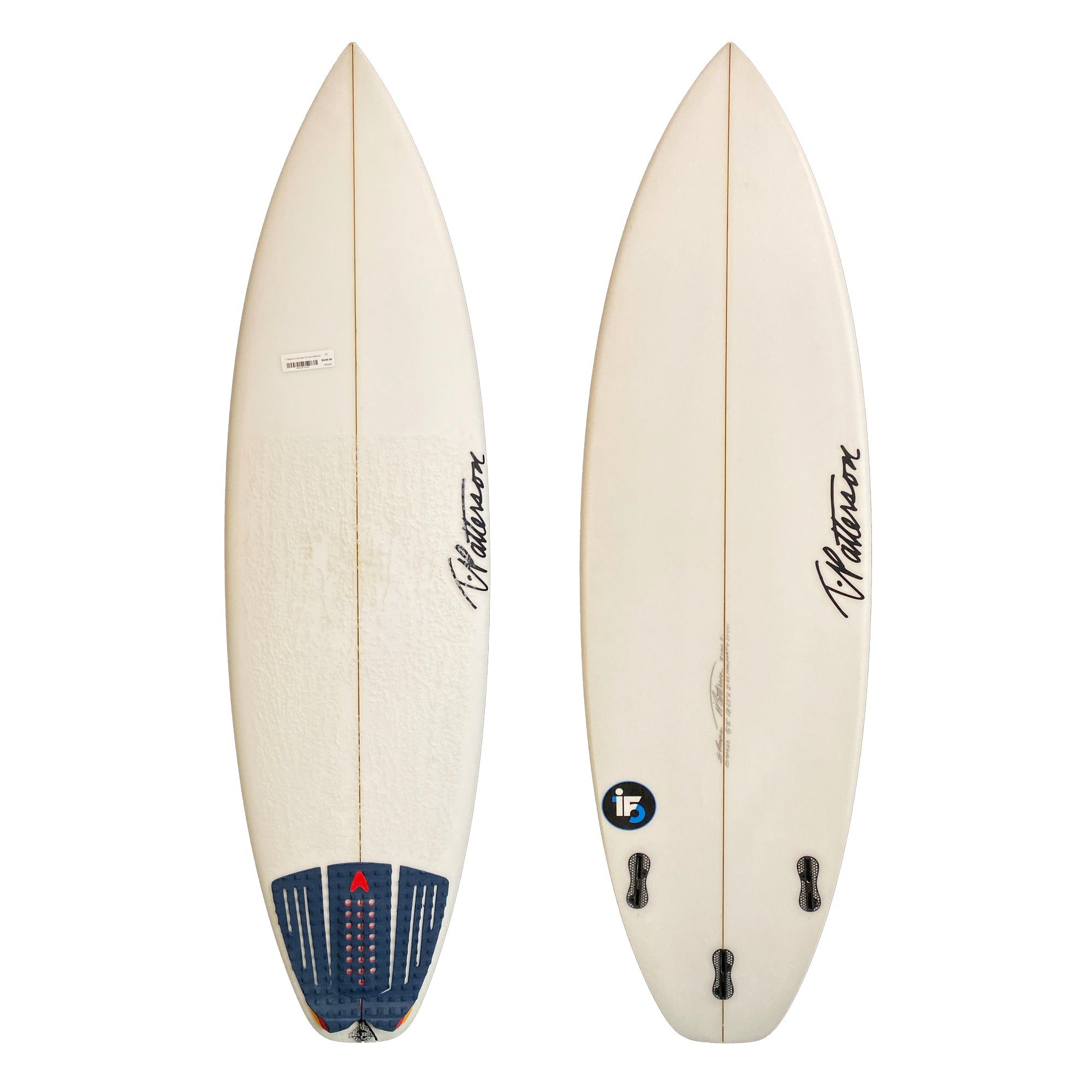 T-Patterson Pool Party 5'8 Used Surfboard