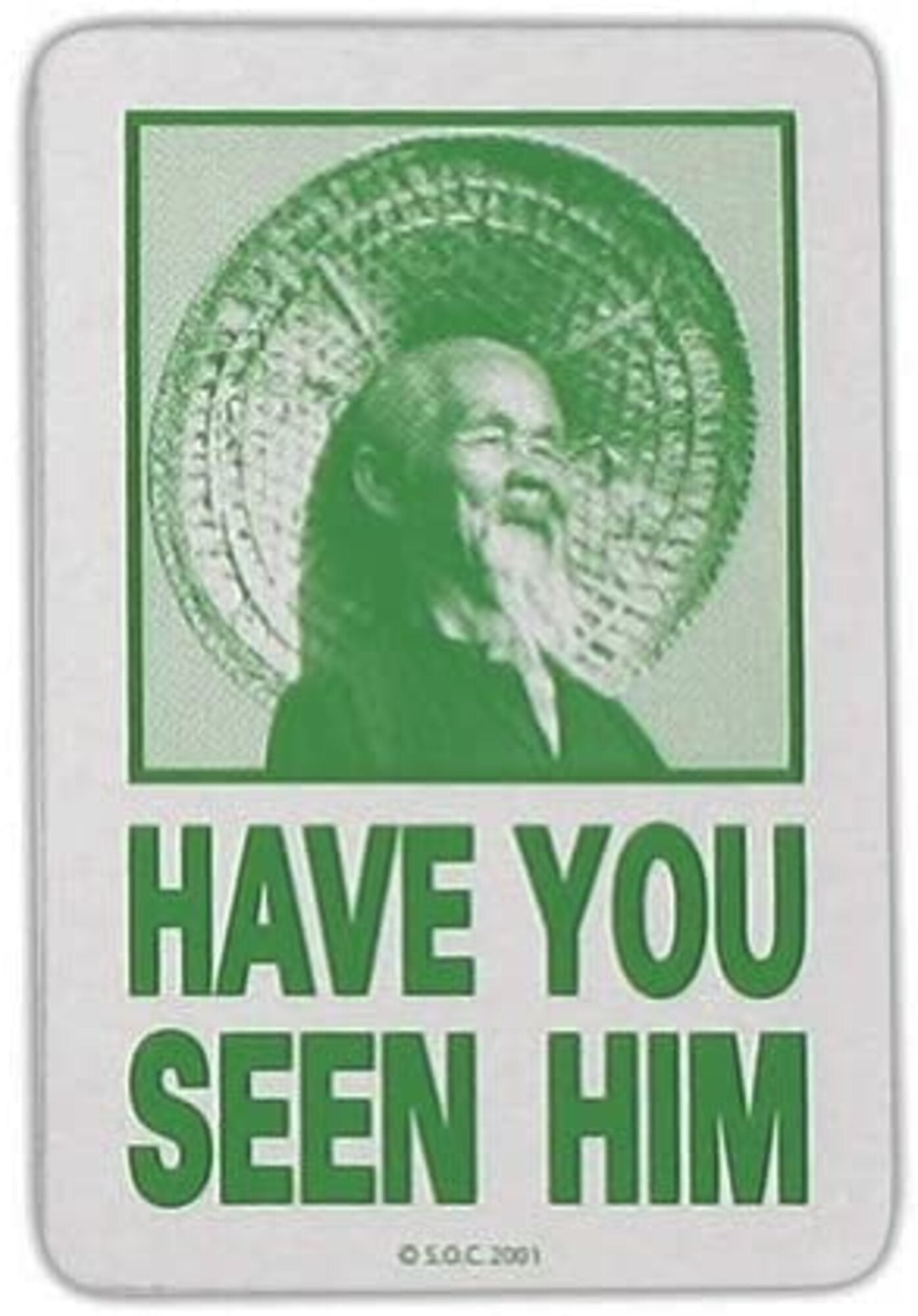Powell Peralta Have You Seen Him Decal