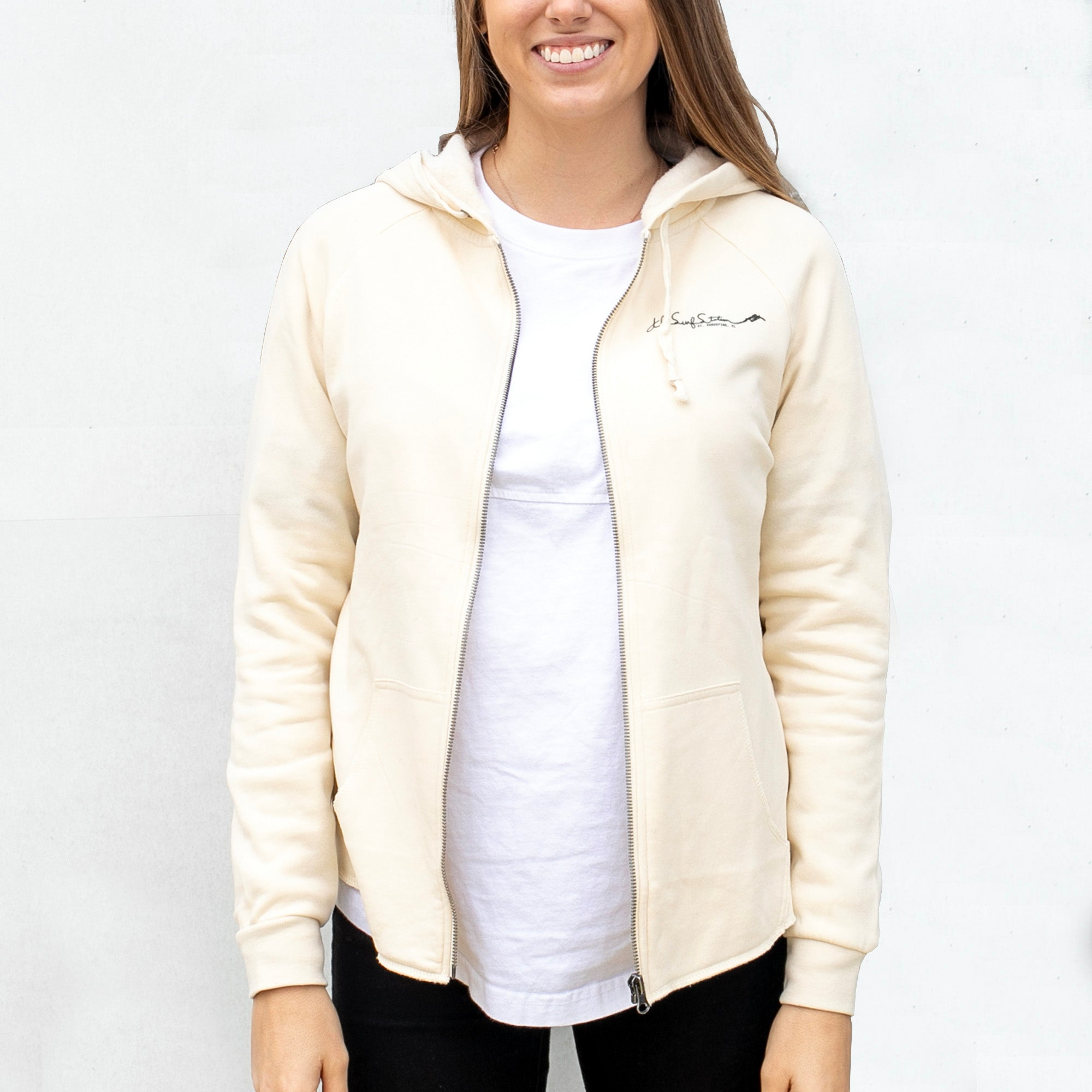 Surf Station Pre-Surf Hooded Zip Women's Hooded Fleece