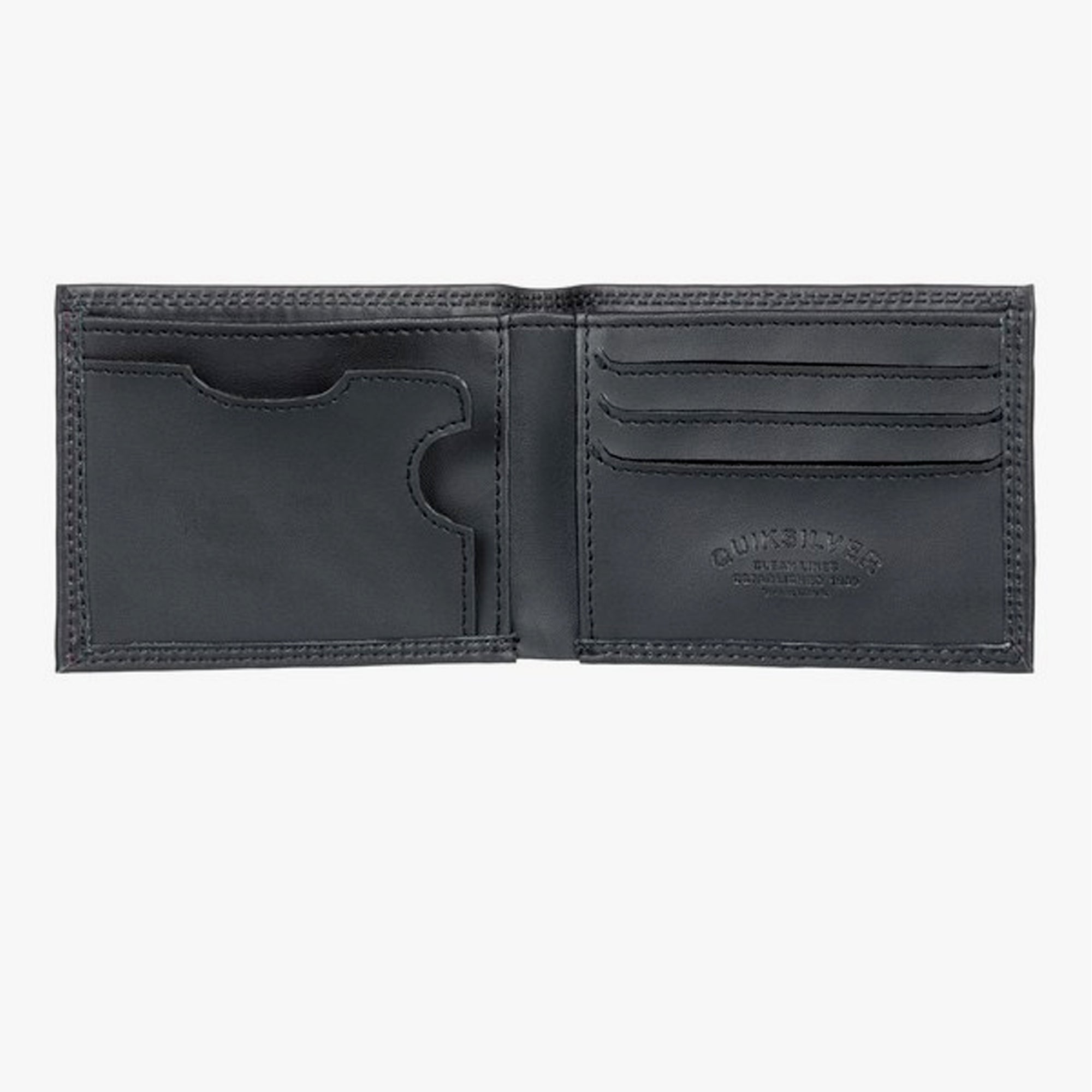 Quiksilver Mini Macbro Leather Bi-Fold Wallet