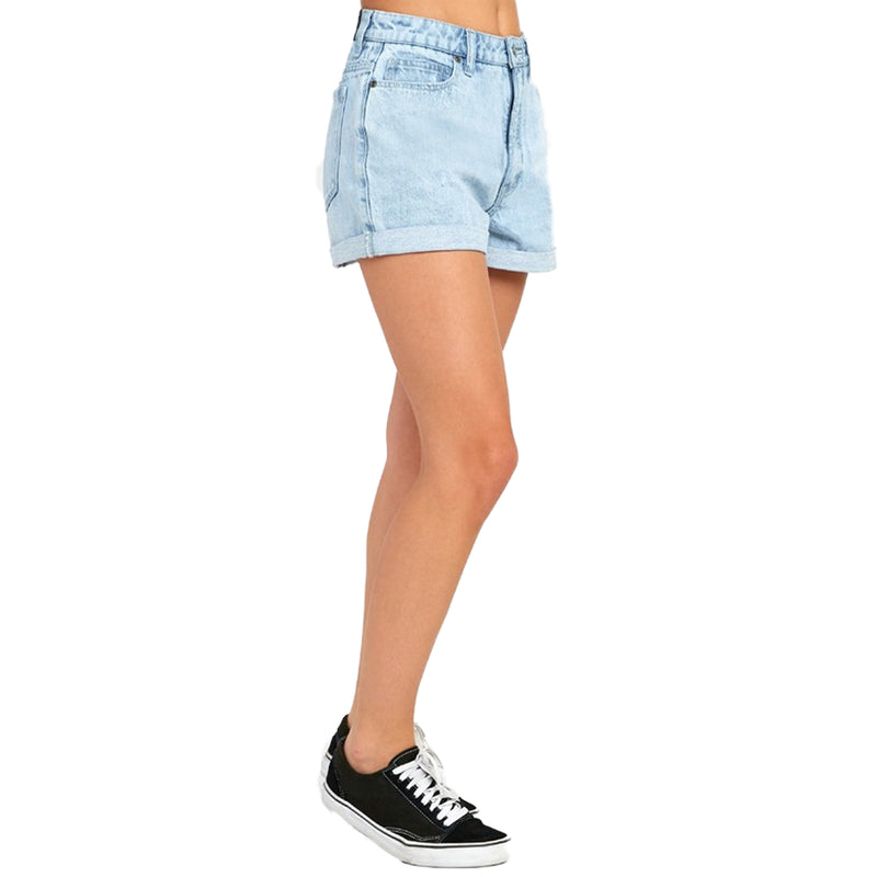 RVCA Hi Roller Women's High Rise Denim Shorts