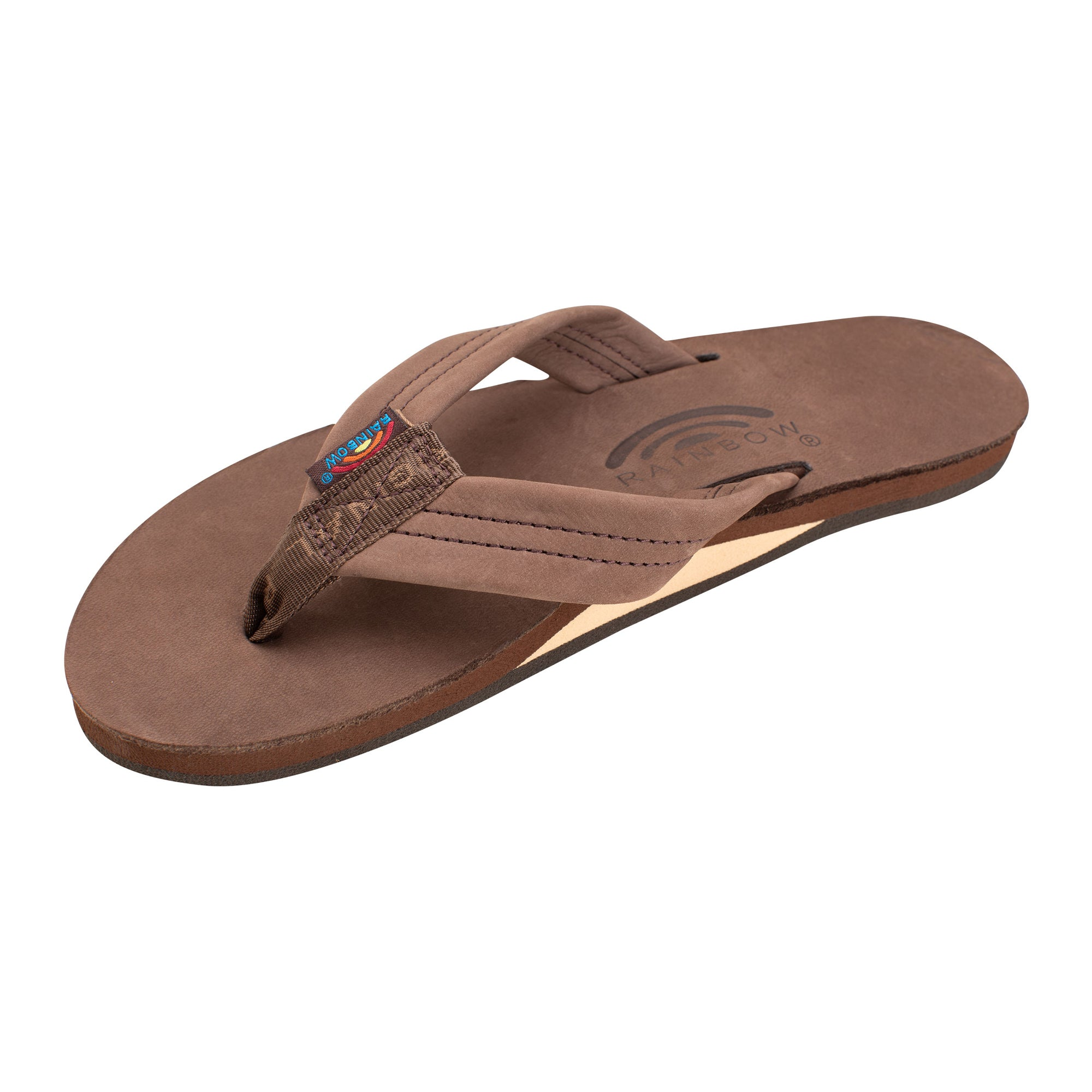 Rainbow Single Premier Leather Women's Sandals