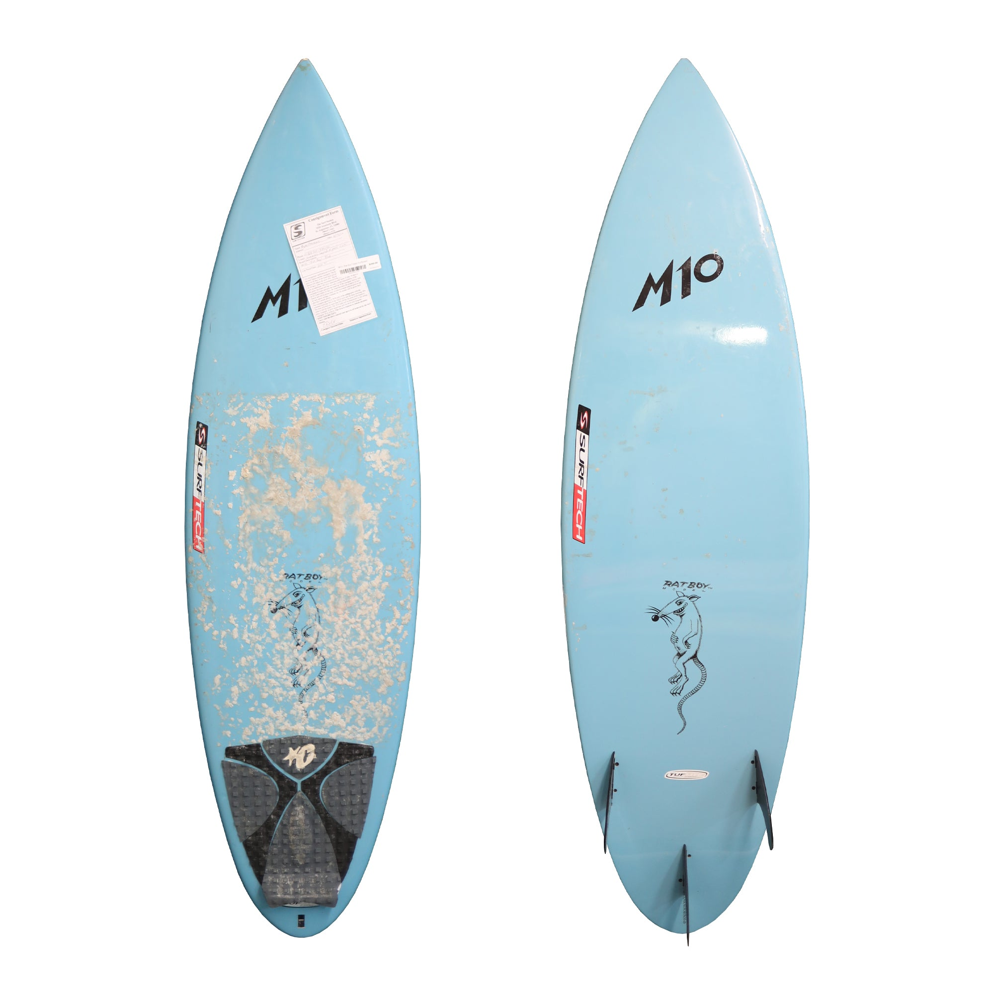 "M10 ""Rat Boy""Used Surfboard"