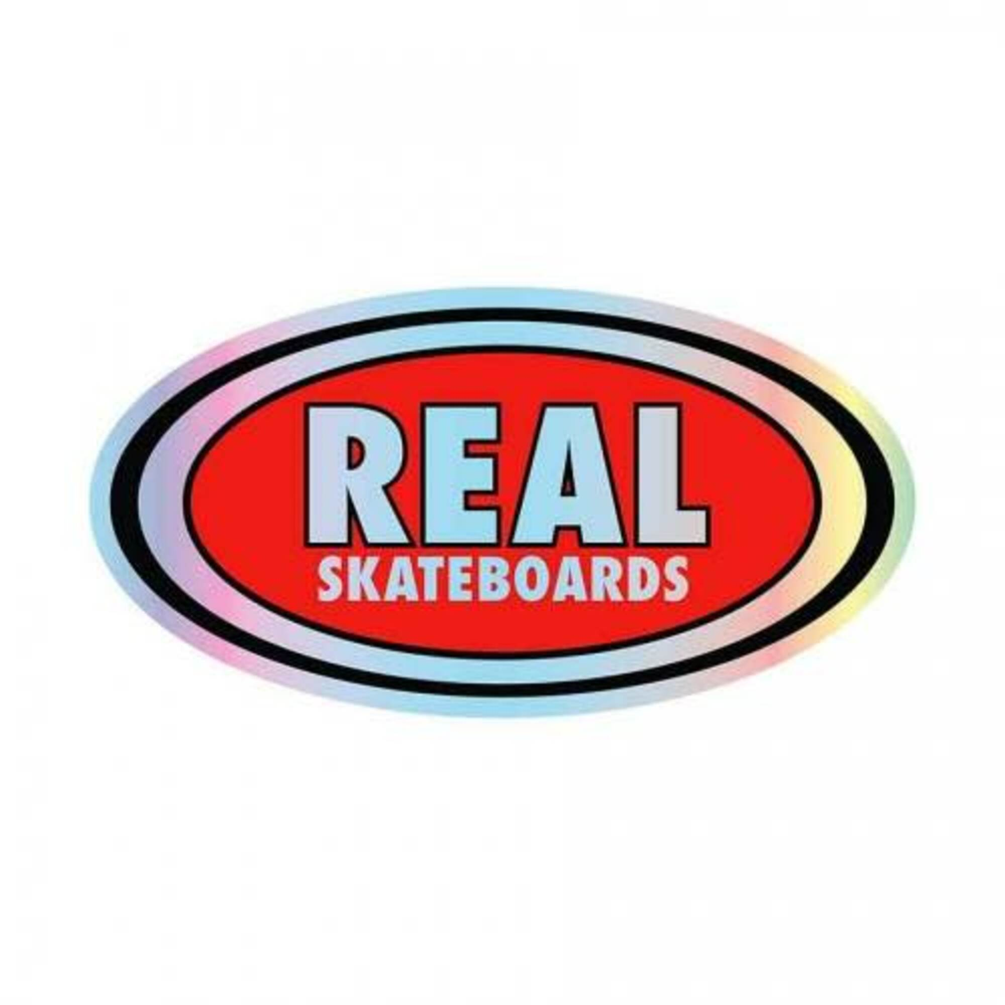 Real Oval Prism Small Decal