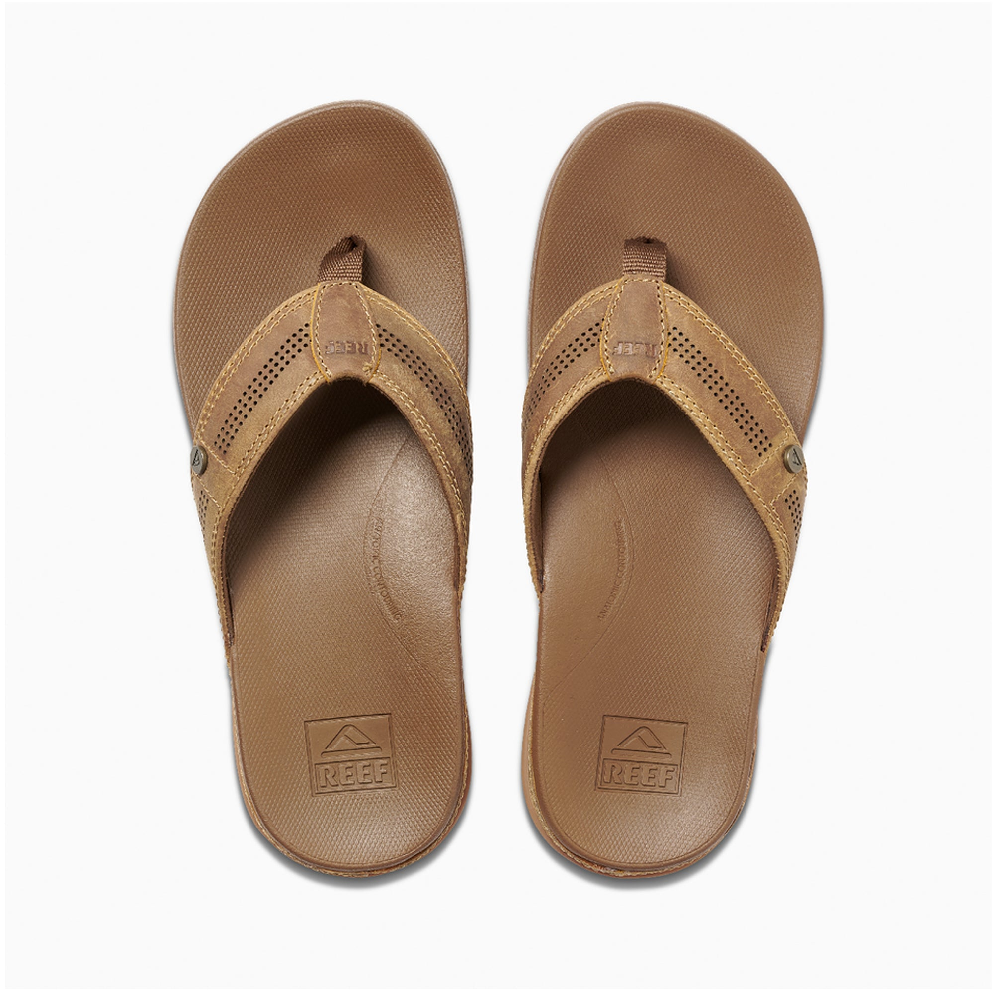 Reef Cushion Lux Men's Sandals - Toffee