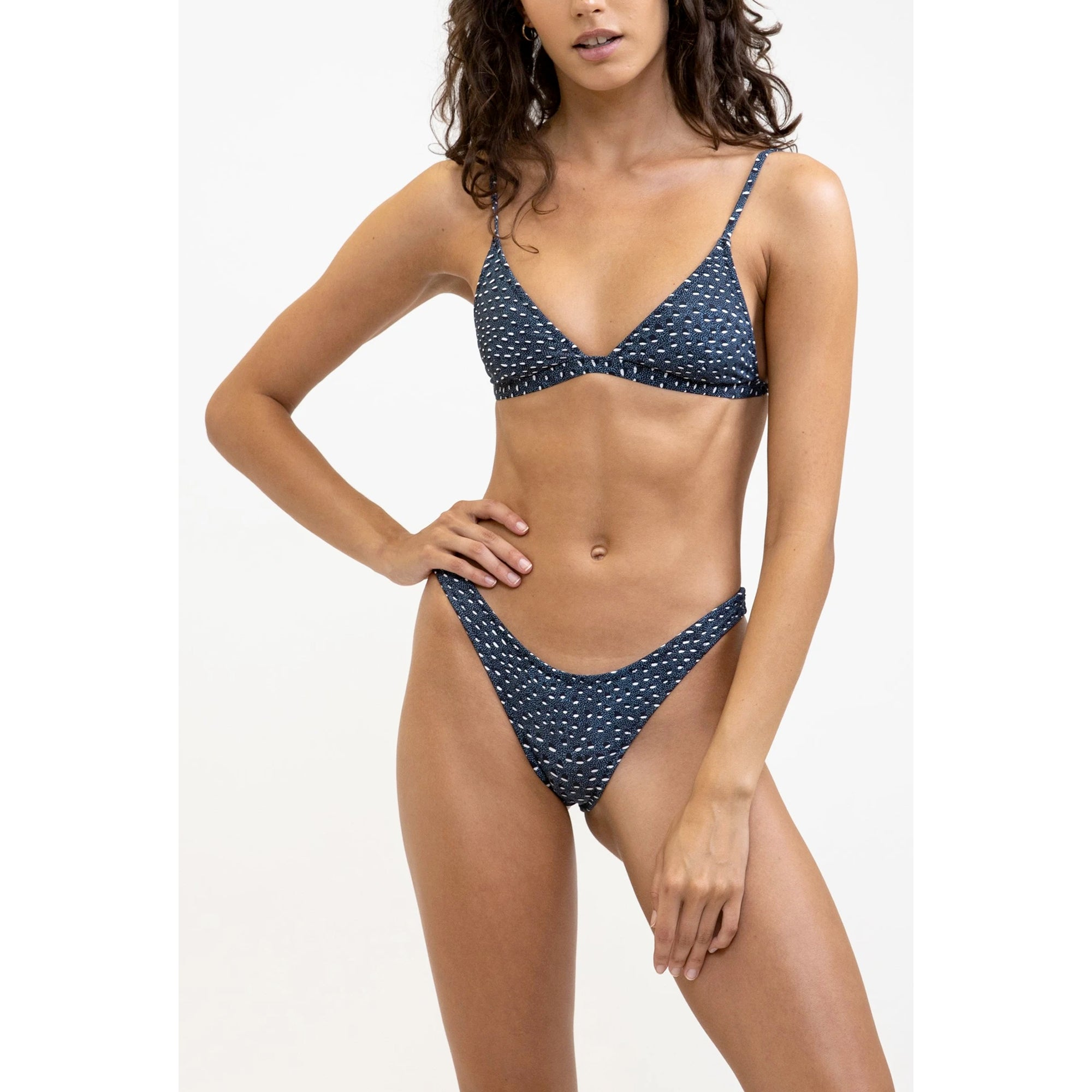 Rhythm Pebble Women's Bralette Bikini Top