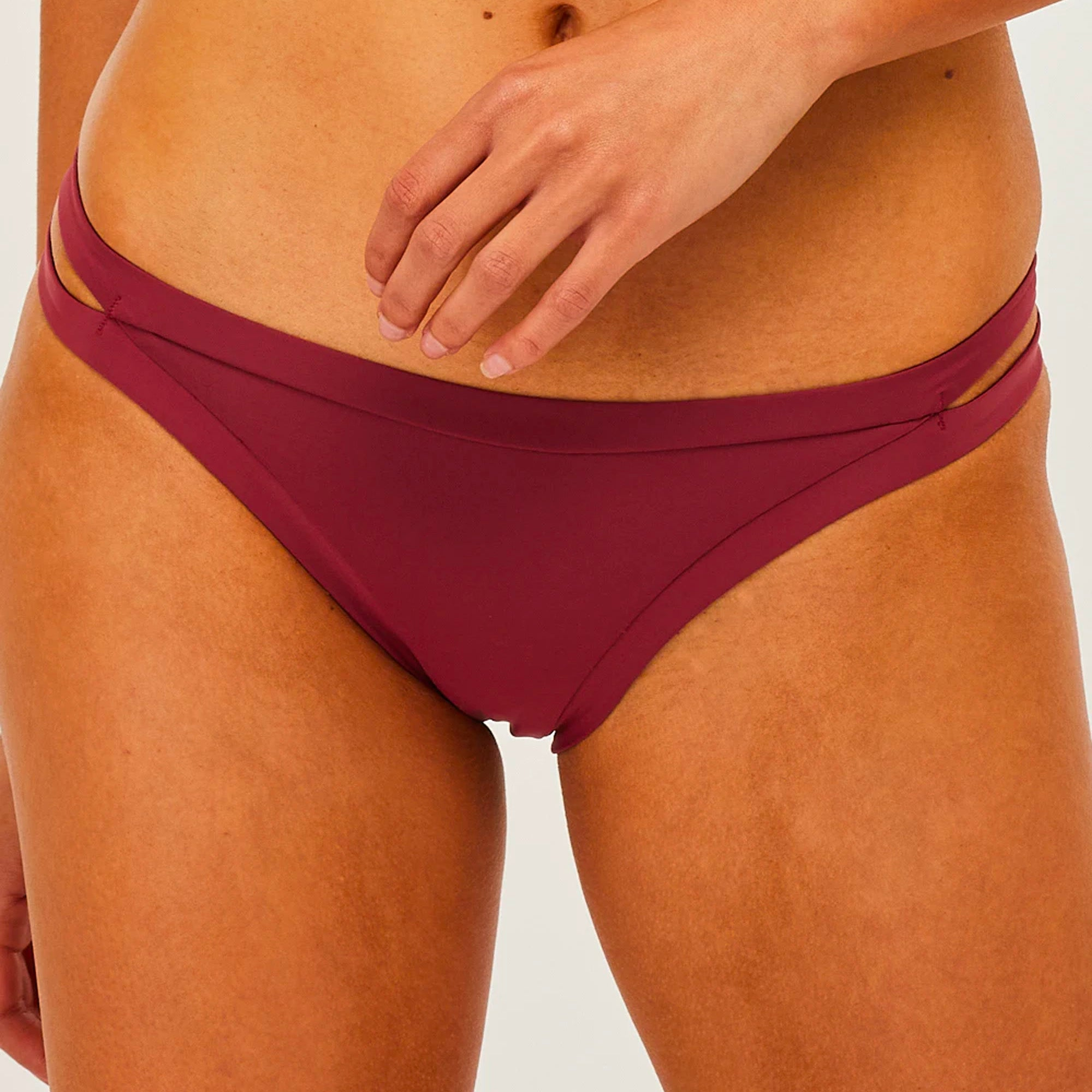 Rhythm Split Side Itsy Women's Bikini Bottoms