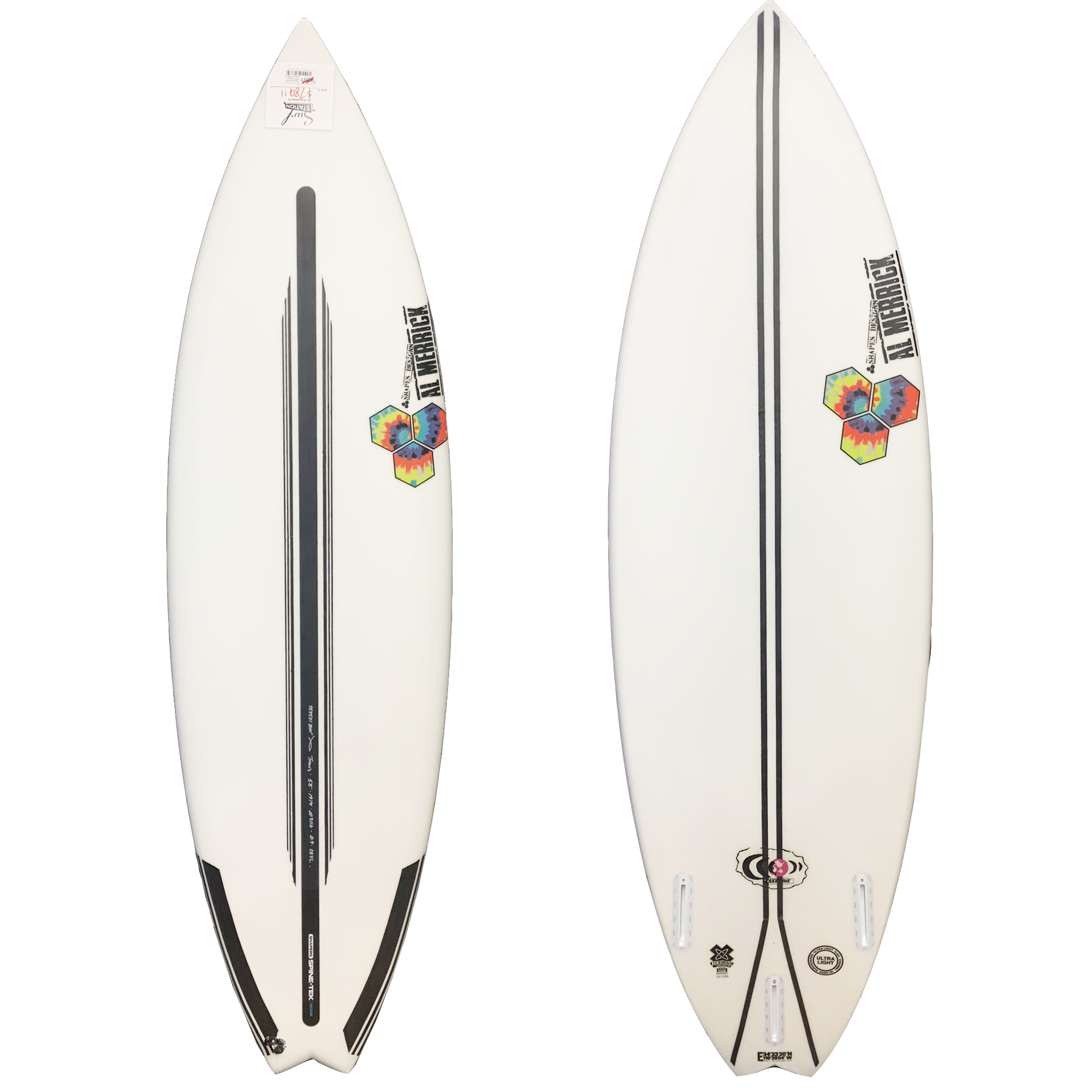 Channel Islands Rocket 9 Surfboard - Spine-Tek