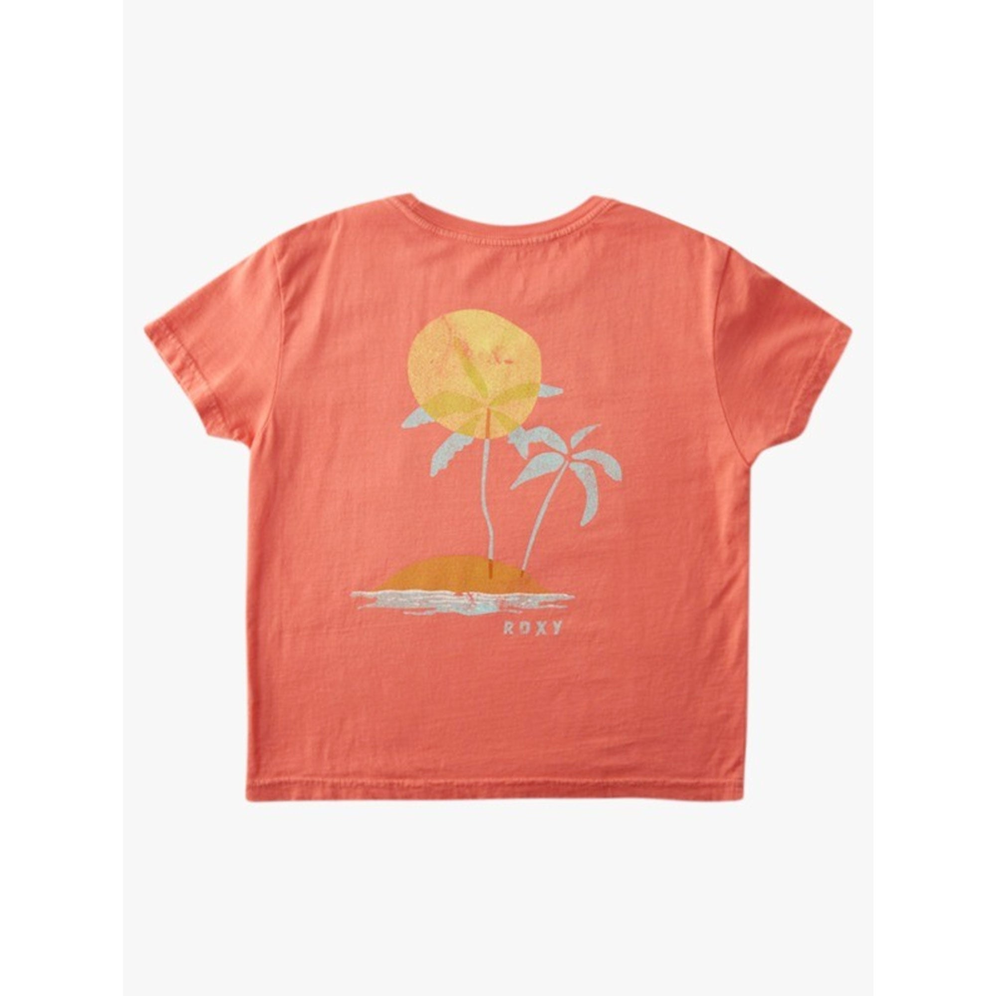 Roxy Artsy Palms Youth Girl's T-Shirt