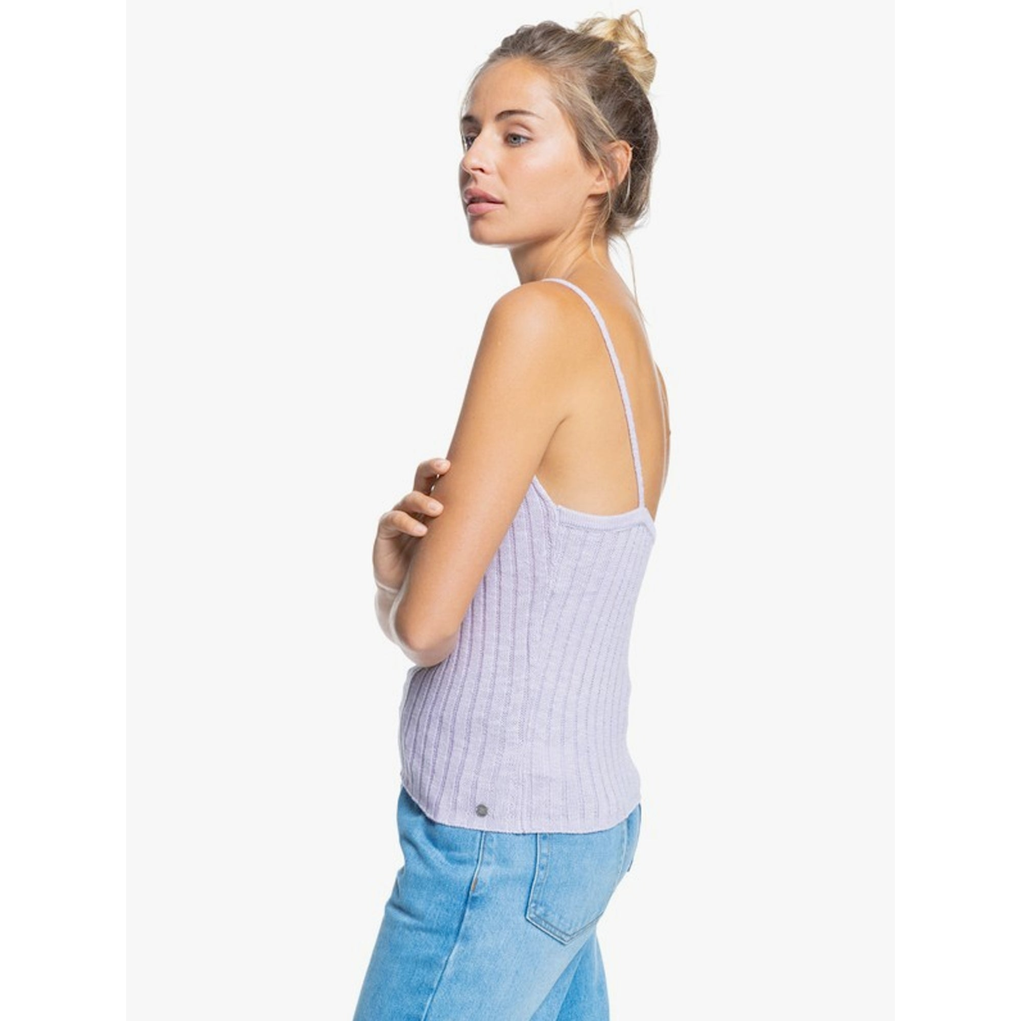 Roxy Moon Bird Women's Knitted Tank Top