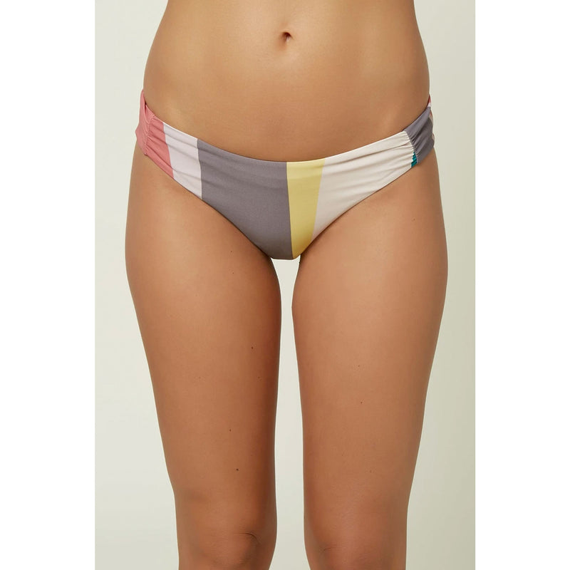 O'Neill Sapa Striped Hipster Bikini Bottoms