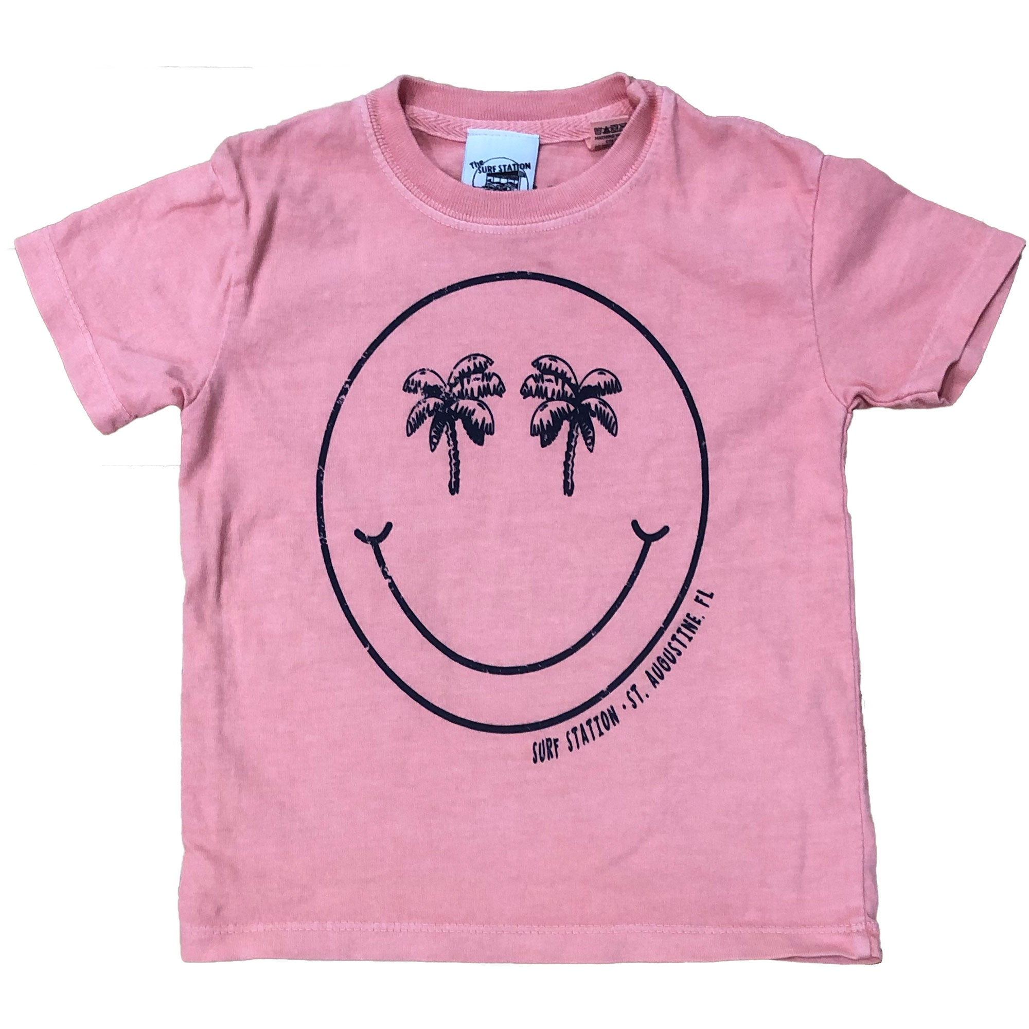Surf Station Palm Smile Toddler S/S T-Shirt