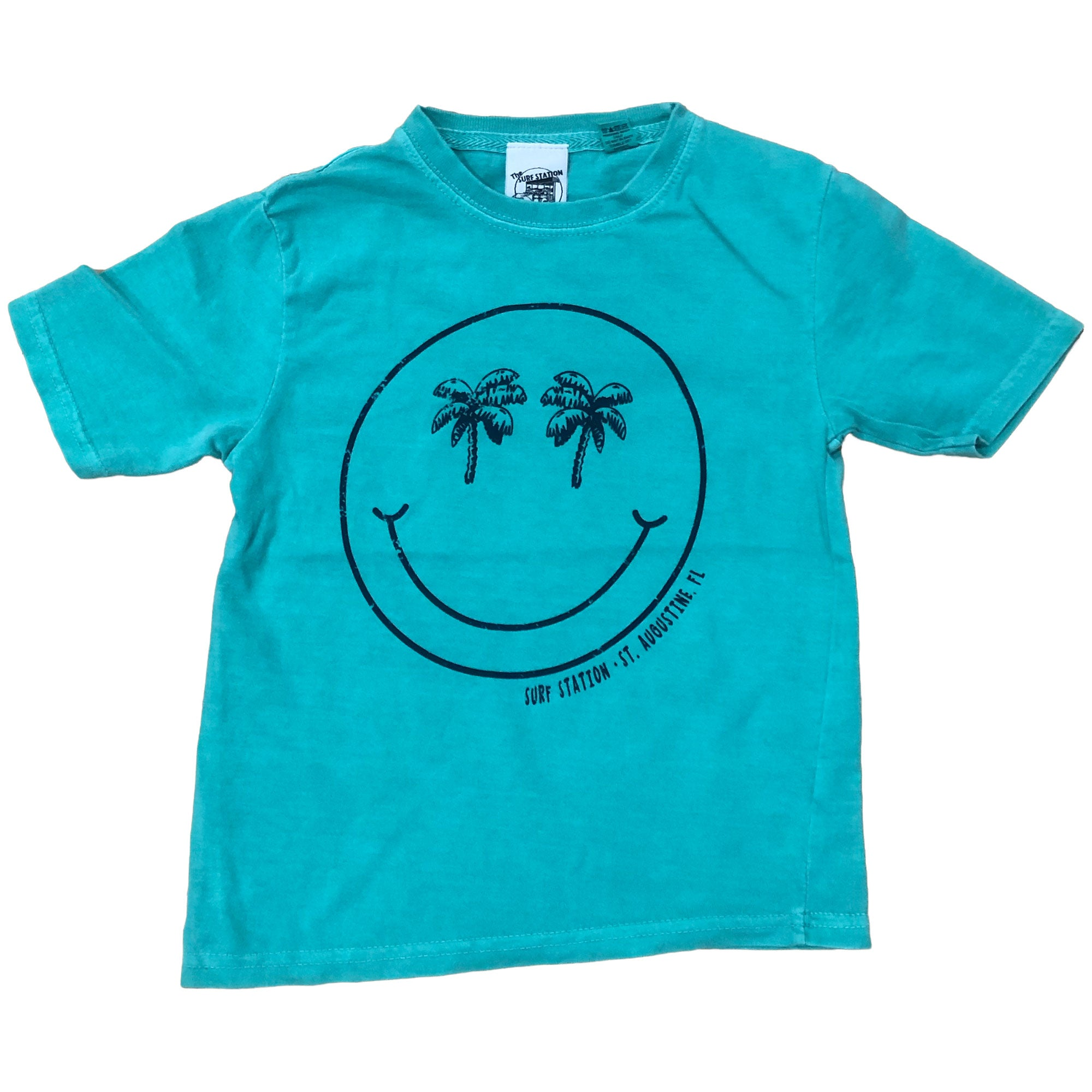 Surf Station Palm Smile Youth S/S T-Shirt