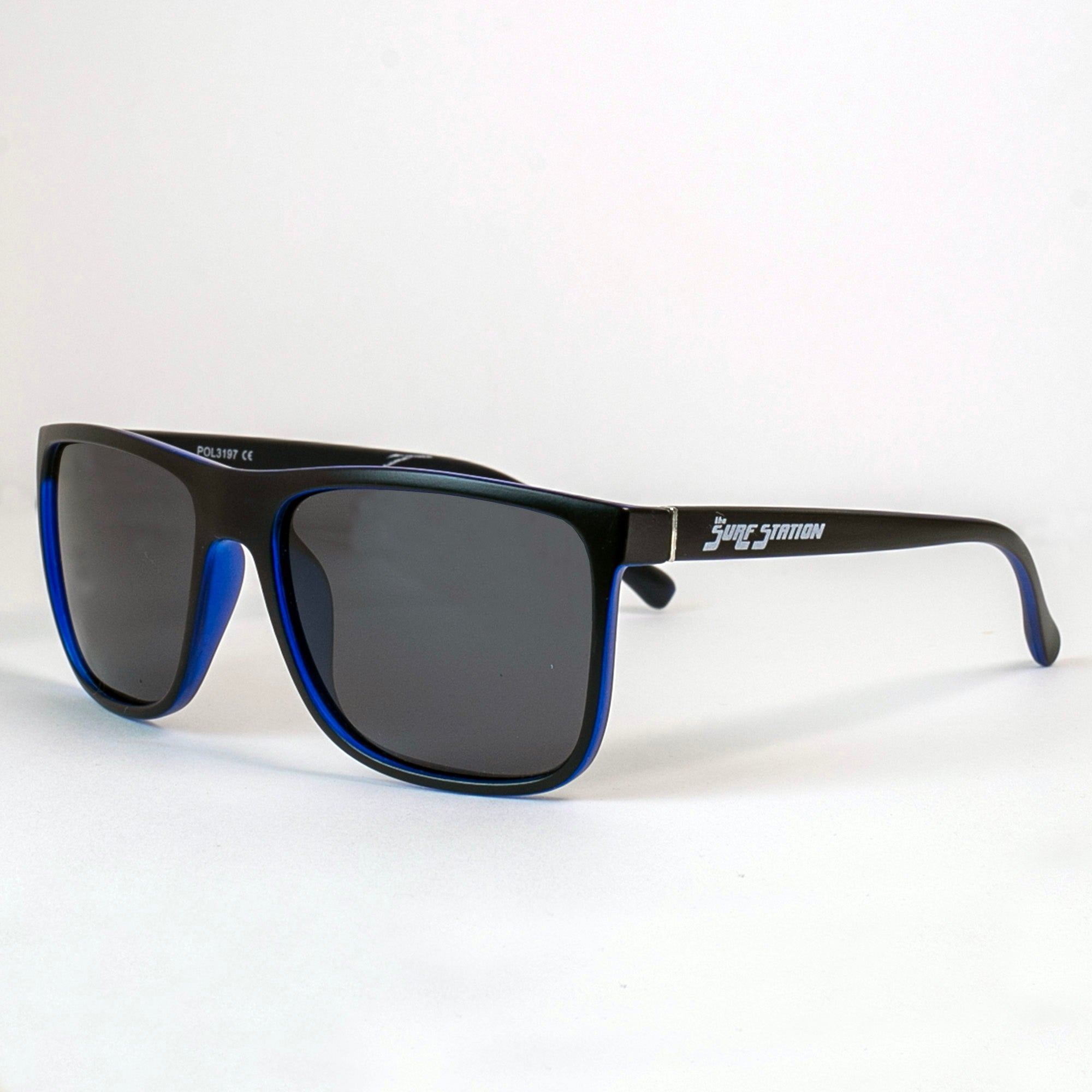 Surf Station Basic Polarized Men's Sunglasses - Blue